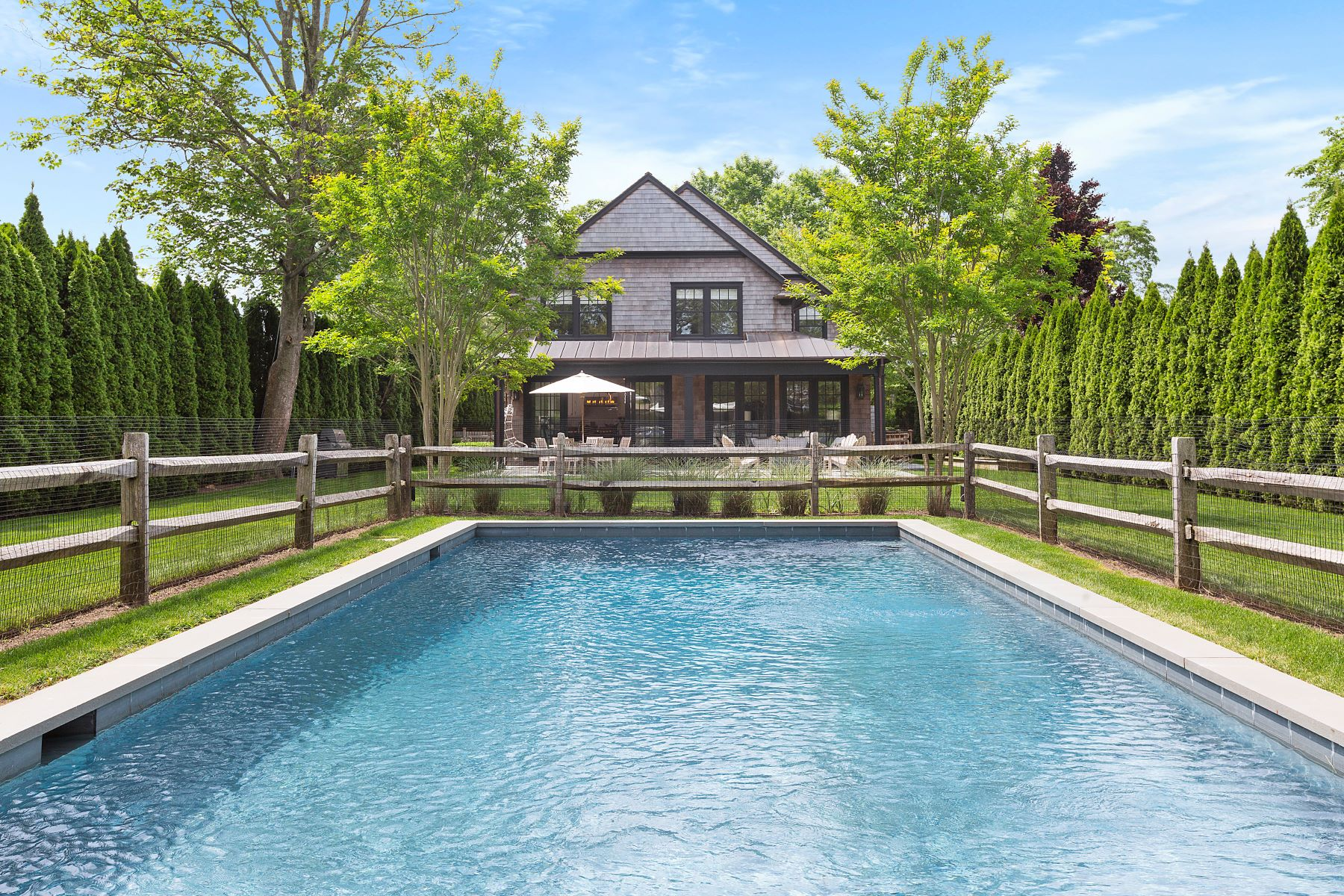 Single Family Homes for Sale at Chic Water Mill Farmhouse 102 Halsey Lane Water Mill, New York 11976 United States