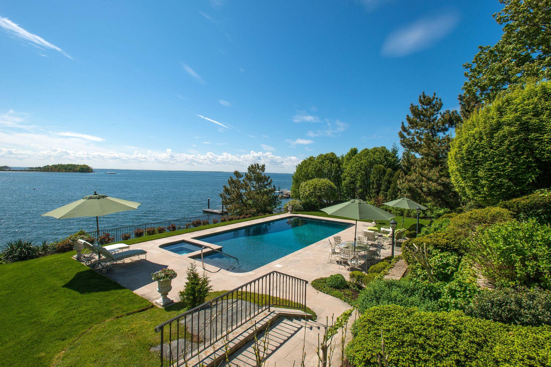 Single Family Homes для того Продажа на Greenwich, Коннектикут 06830 Соединенные Штаты