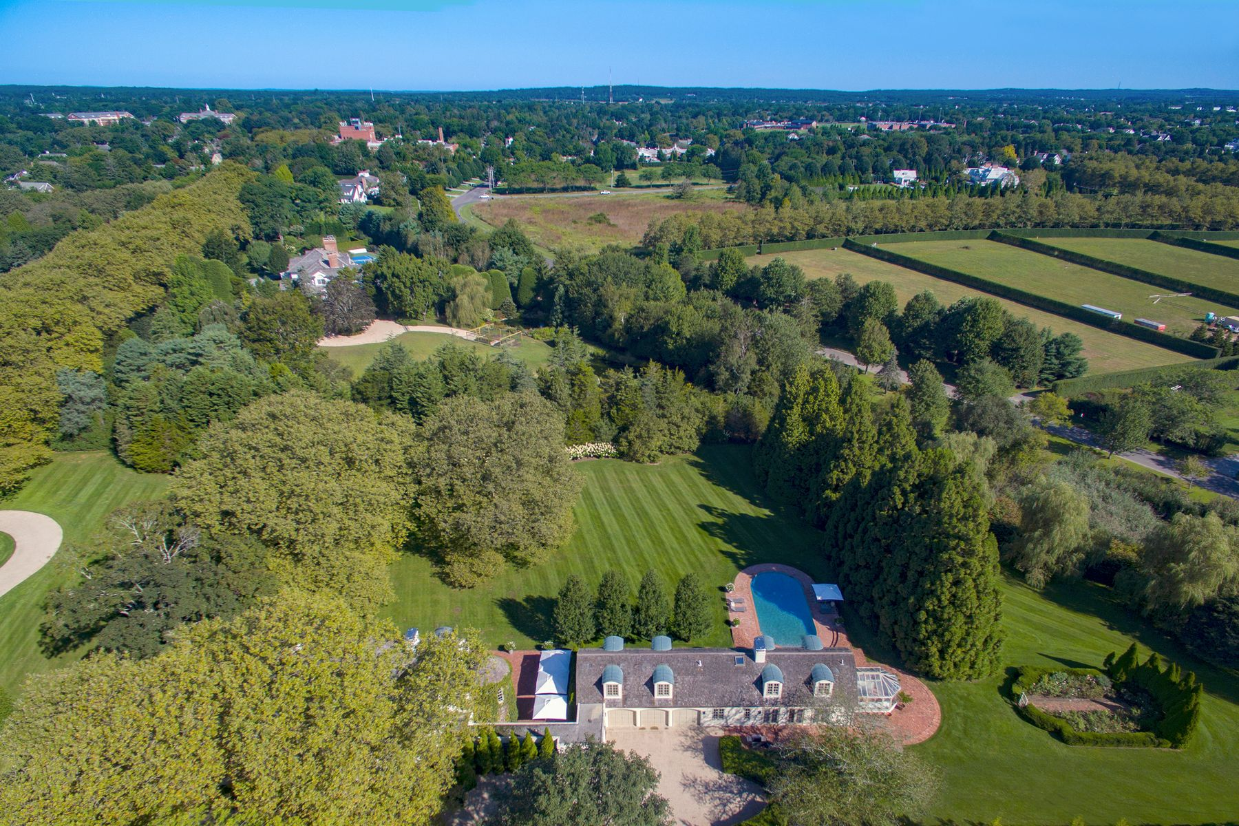 Single Family Homes for Active at Exquisite Landscape on Wyandanch Lane 80 Wyandanch Lane Southampton, New York 11968 United States