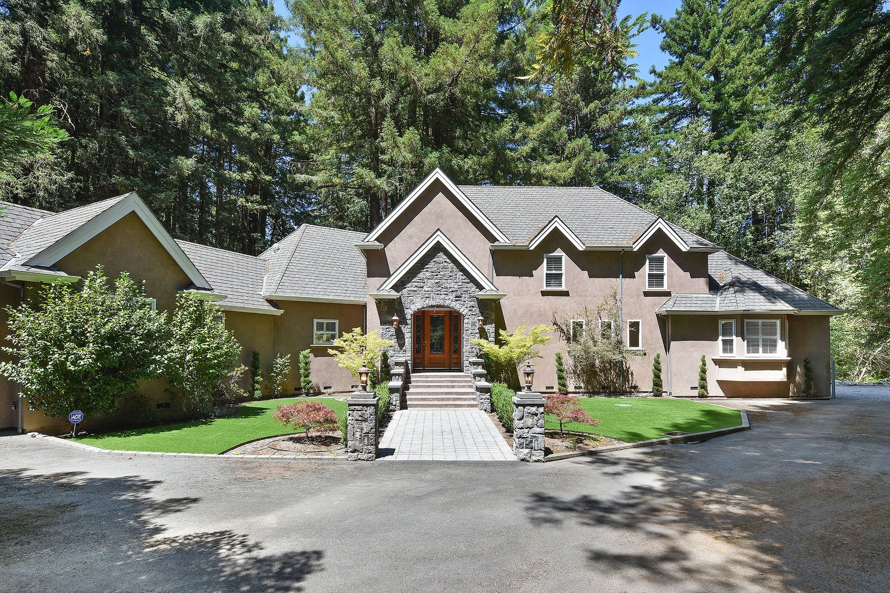 Single Family Homes for Sale at Stunning West County Estate 711 & 705 Furlong Rd Sebastopol, California 95472 United States