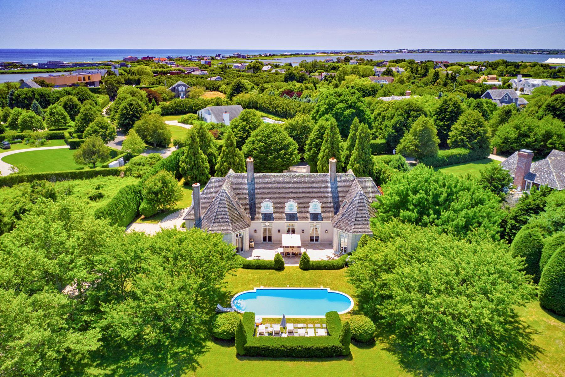Single Family Homes for Sale at Bridgehampton South Near Ocean 81 Rose Way Bridgehampton, New York 11932 United States