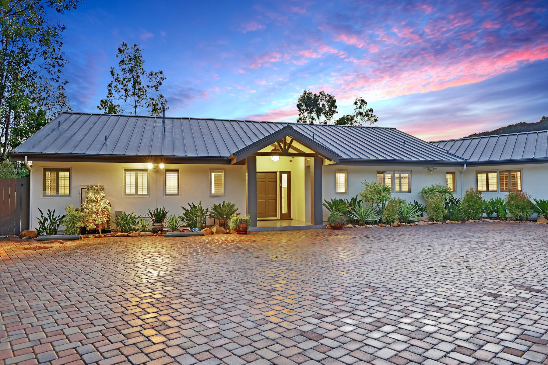 Single Family Homes for Sale at Single Level View Home In Calabasas 24311 Sylvan Glen Rd Calabasas, California 91302 United States