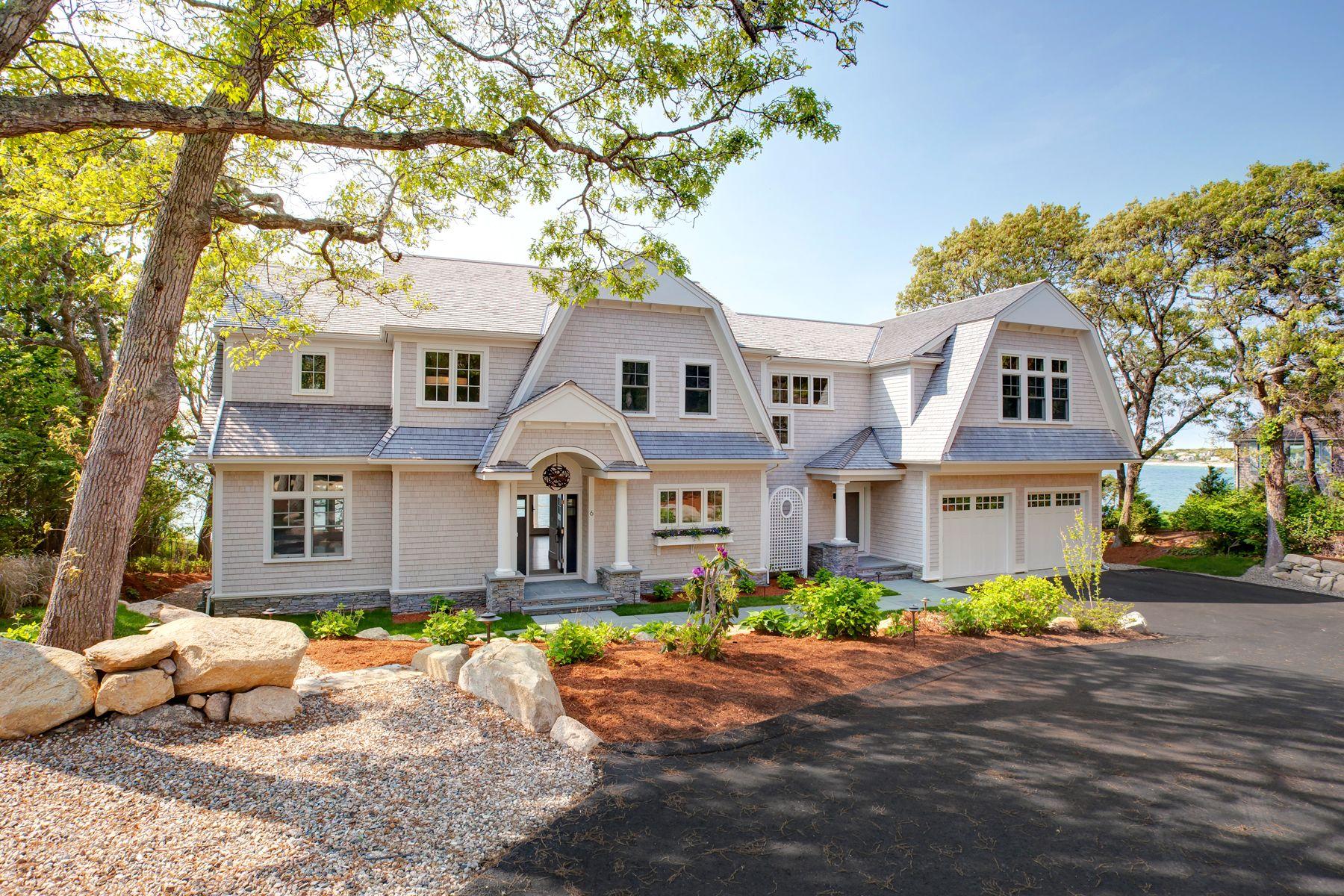 Single Family Homes pour l Vente à Spectacular Ocean Views 6 Uncatena N Falmouth, Massachusetts 02574 États-Unis