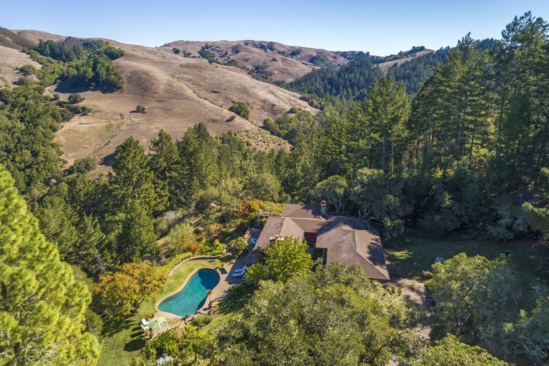 Single Family Homes for Sale at Nicasio Country 54 Los Pinos Spur Nicasio, California 94946 United States