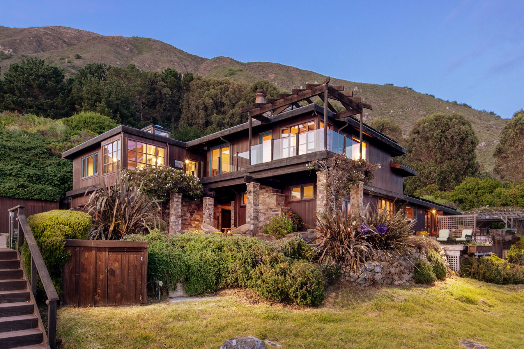 Single Family Homes for Sale at Magnificent Big Sur Ocean Front Property 54800 Highway 1 Big Sur, California 93920 United States