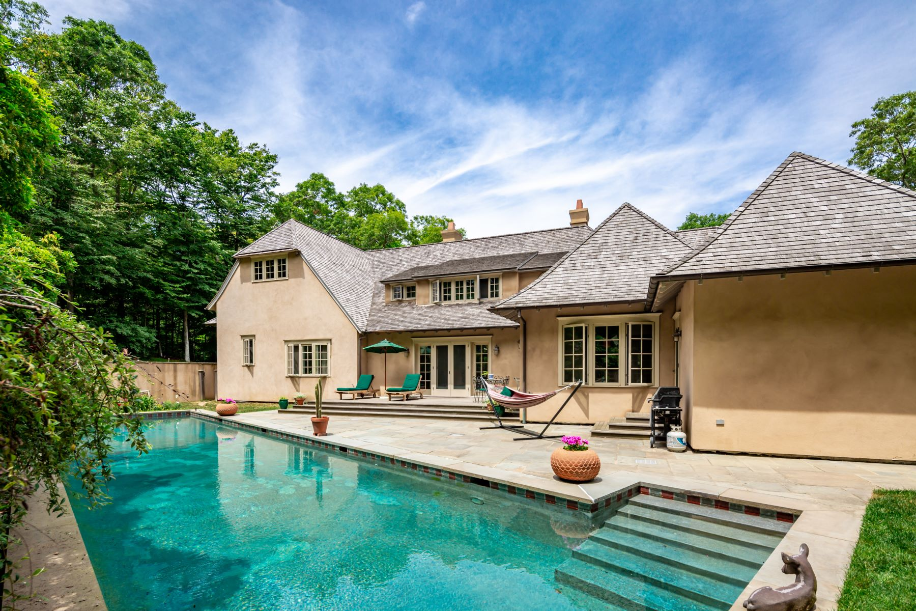 Single Family Homes for Sale at Amagansett Traditional On 2.5 Acres 100 Stony Hill Road Amagansett, New York 11930 United States