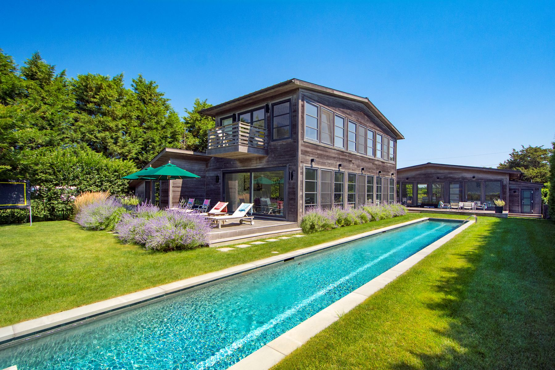 Single Family Homes for Sale at Modern Compound, Immediate Ocean Access. 108 Town Line Road Sagaponack, New York 11962 United States