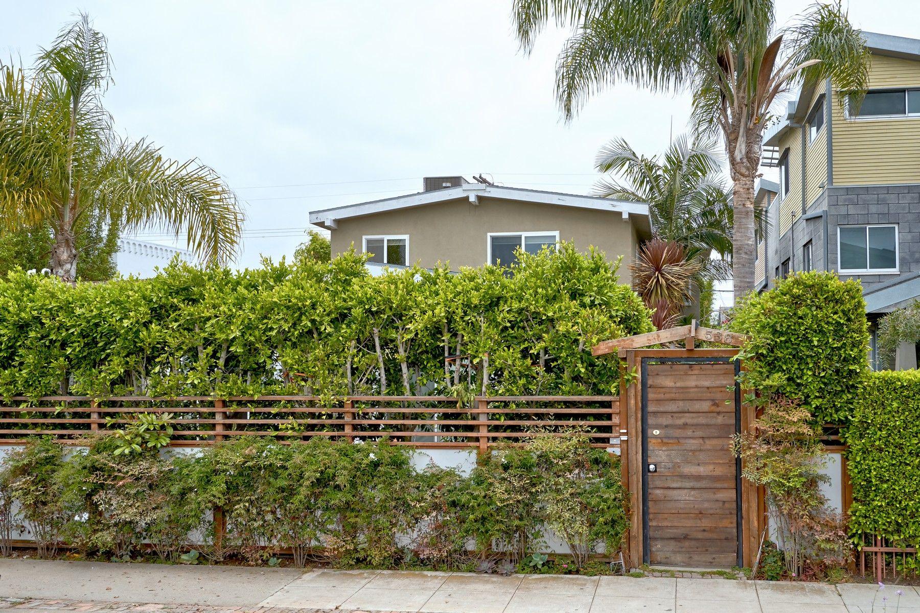 Apartments for Sale at Venice-Silicon Beach Gated Four-Plex 538 Brooks Avenue Venice, California 90291 United States