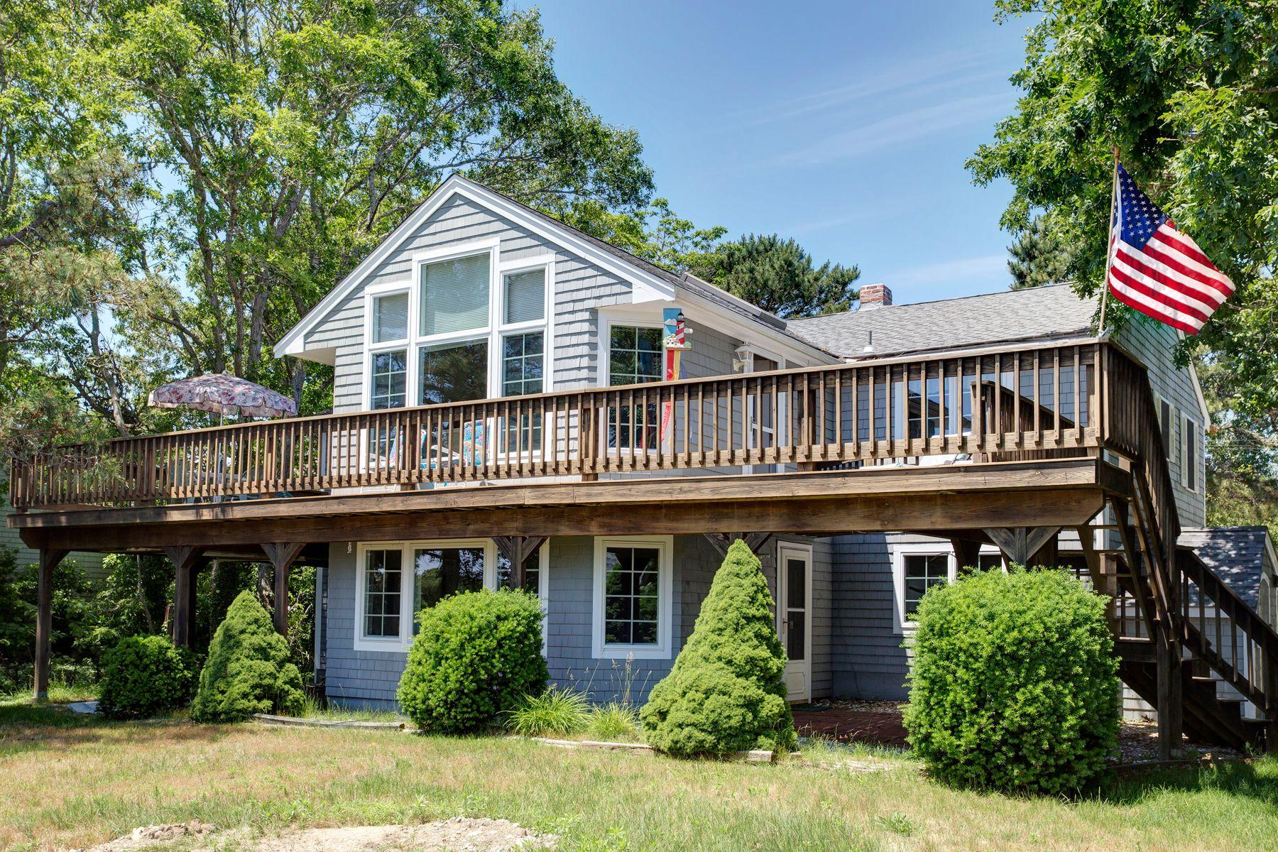 Single Family Homes for Sale at 256 Monomoscoy Road Mashpee, Massachusetts 02649 United States