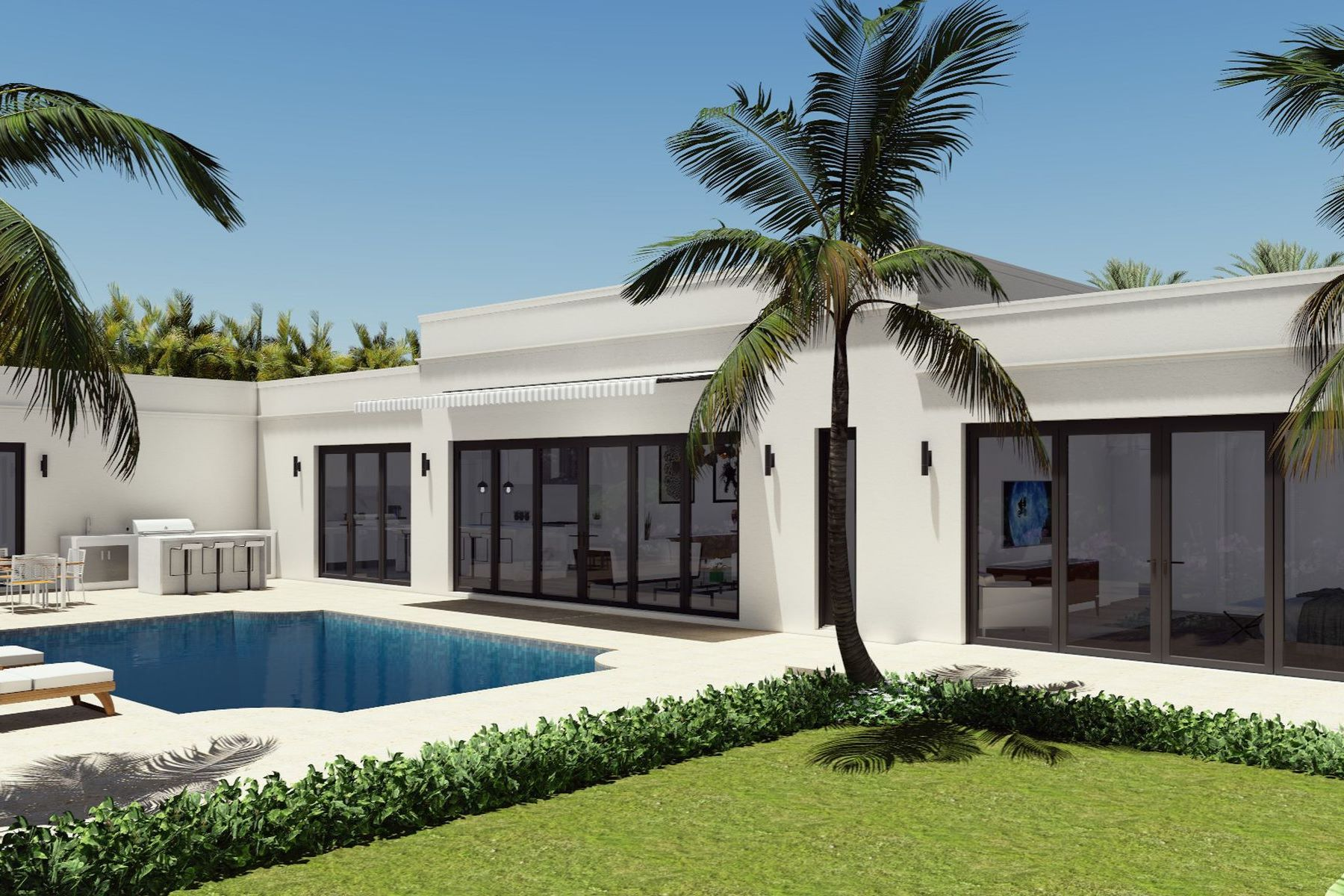 Single Family Homes for Sale at Contemporary North End 240 Sandpiper Dr Palm Beach, Florida 33480 United States