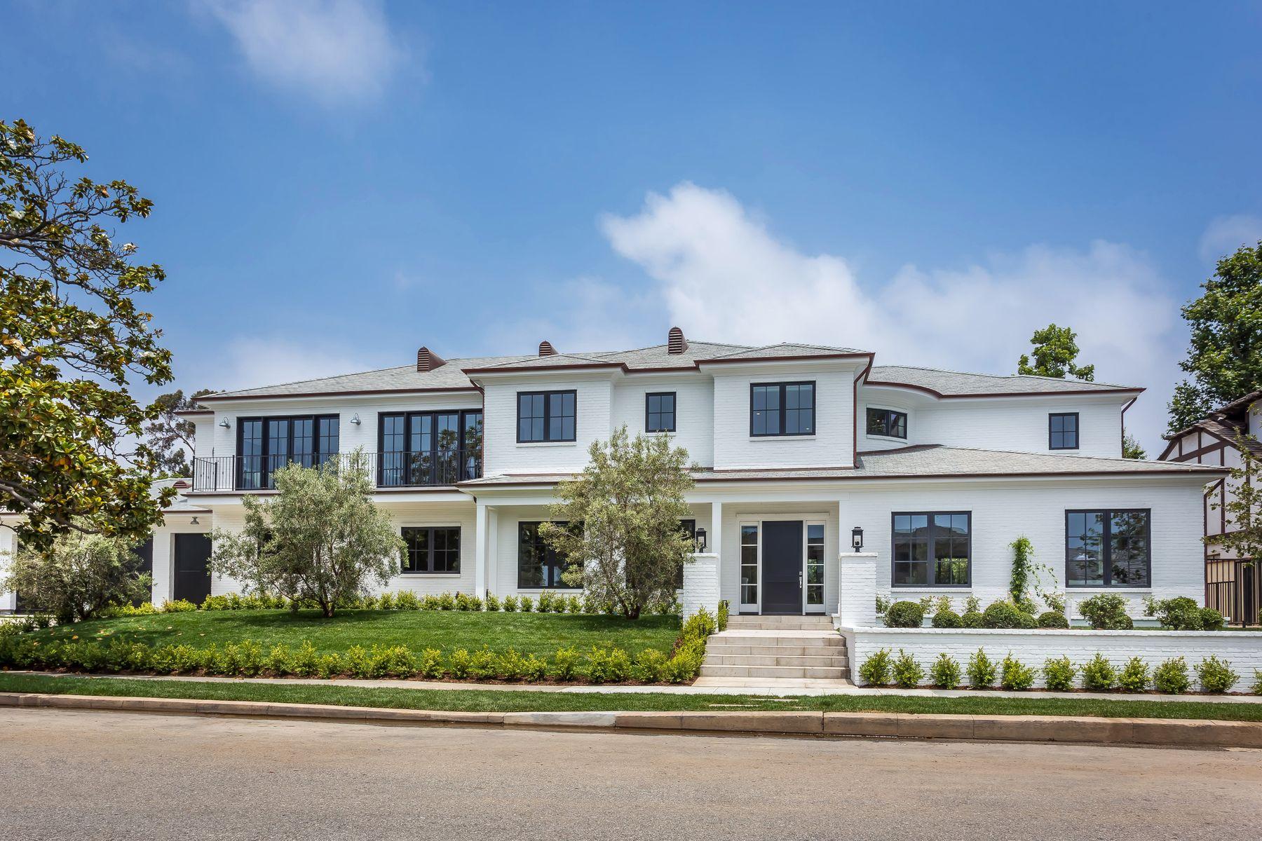 Single Family Homes por un Venta en Brand New Pacific Palisades Estate 14967 Camarosa Drive Pacific Palisades, California 90272 Estados Unidos