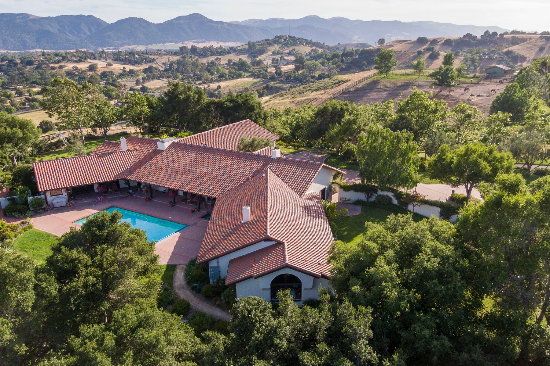 Vineyard Real Estate for Sale at 40 Acre Compound in the Heart of Solvang 1132-1230 Fredensborg Canyon Road Solvang, California 93463 United States
