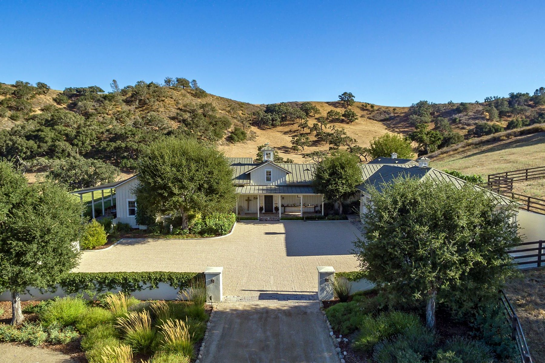 Vineyard Real Estate for Sale at Quail H Ranch 1162 Alisos Road Santa Ynez, California 93460 United States