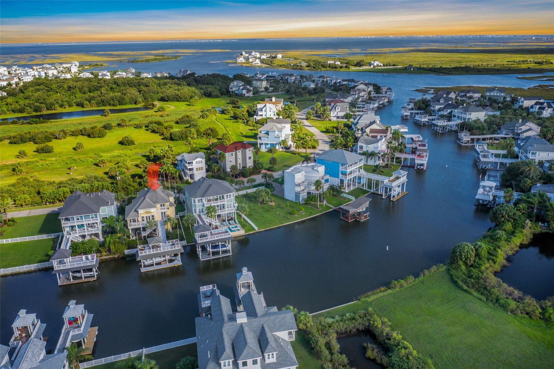 Single Family Homes for Sale at 13427 Binnacle Way Galveston, Texas 77554 United States