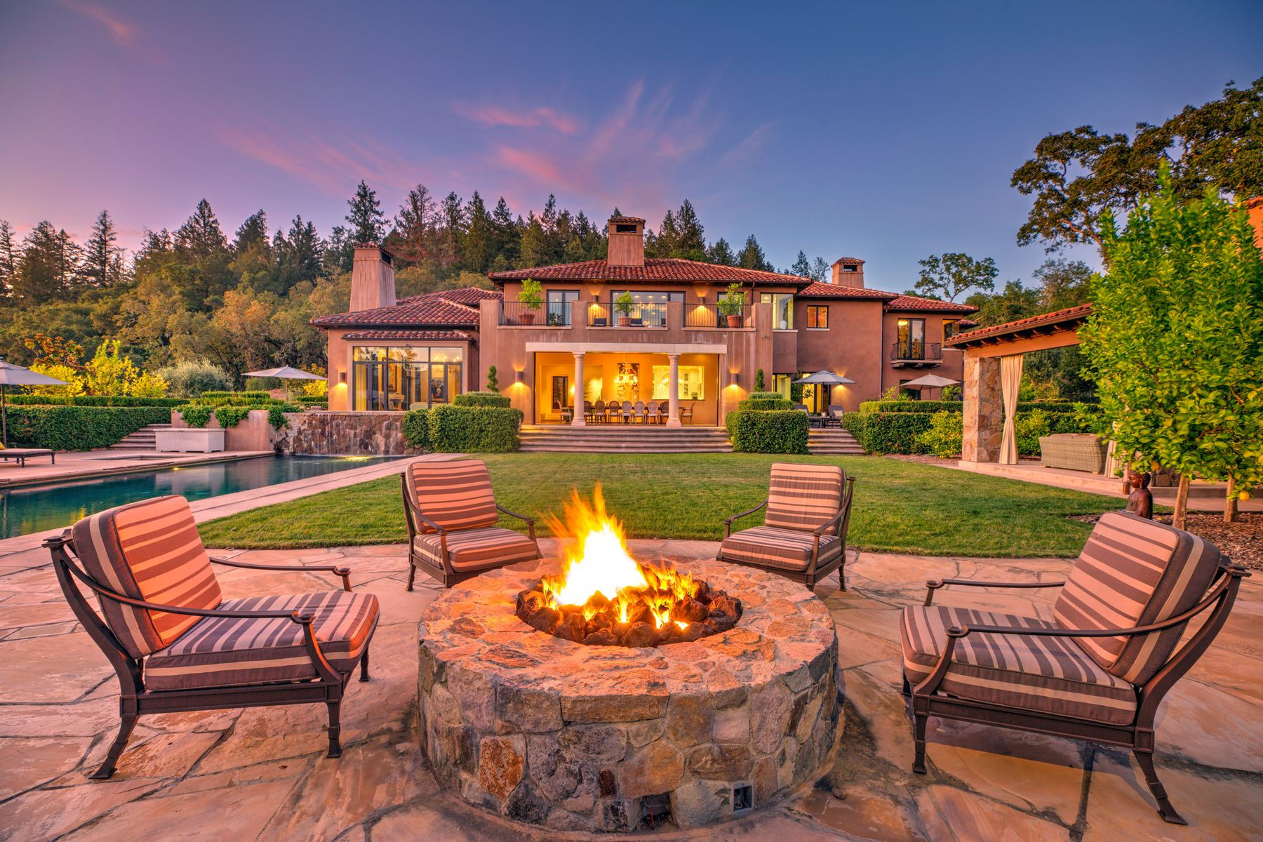 Single Family Homes for Sale at 303 Deer Park Rd St. Helena, California 94574 United States