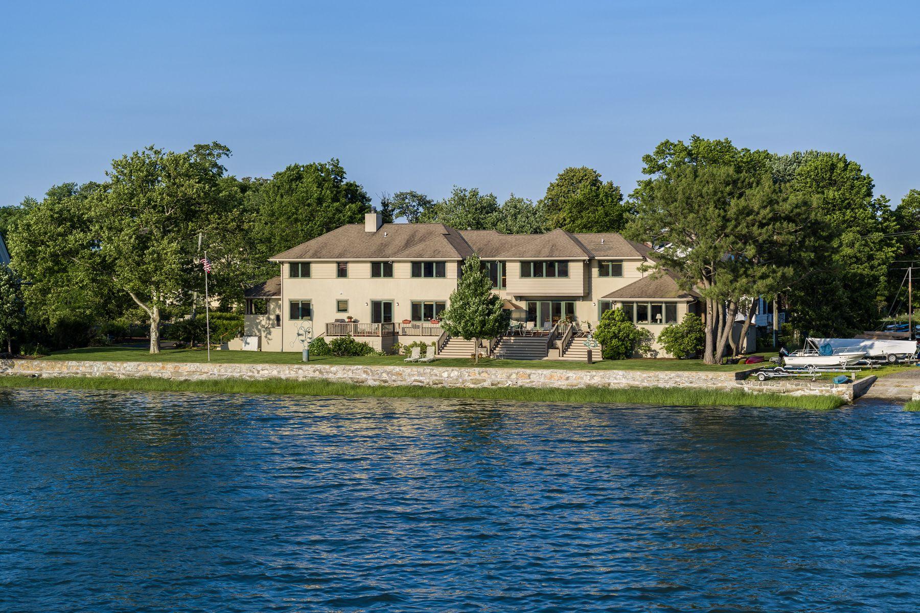 Single Family Homes для того Продажа на Old Greenwich, Коннектикут 06870 Соединенные Штаты
