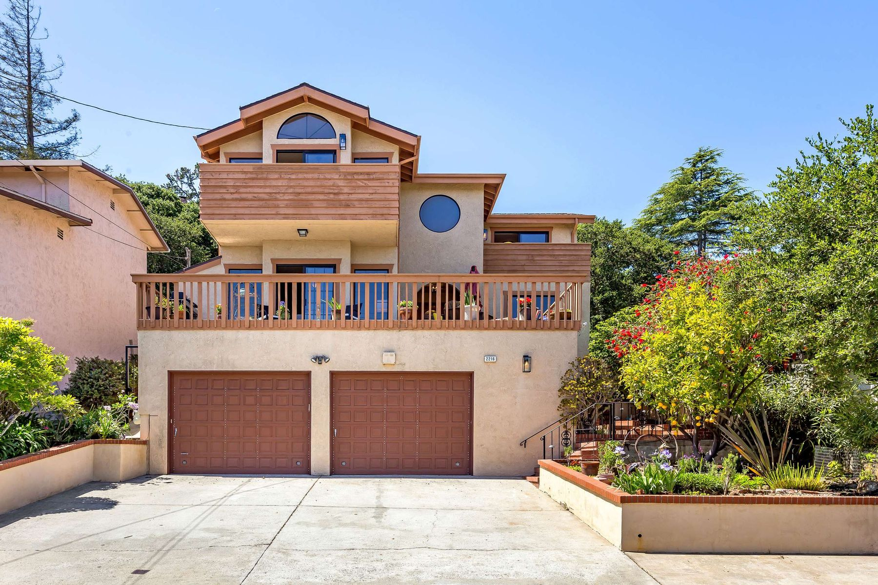 Single Family Home for Active at Custom Built Home With Bay Views 2216 Semeria Ave Belmont, California 94002 United States