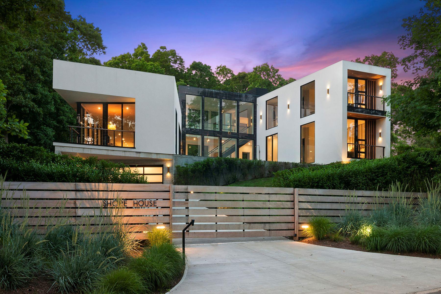 Single Family Homes 為 出售 在 One Of A Kind Modern On Shelter Island 12 Shore Road, Shelter Island, 纽约 11965 美國