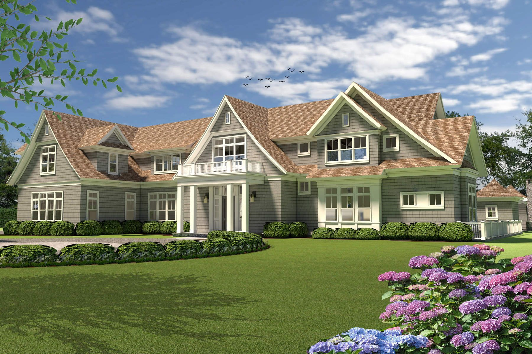 Land for Active at New Construction with Pool & 3-Car Garge 593 Flying Point Road Southampton, New York 11968 United States
