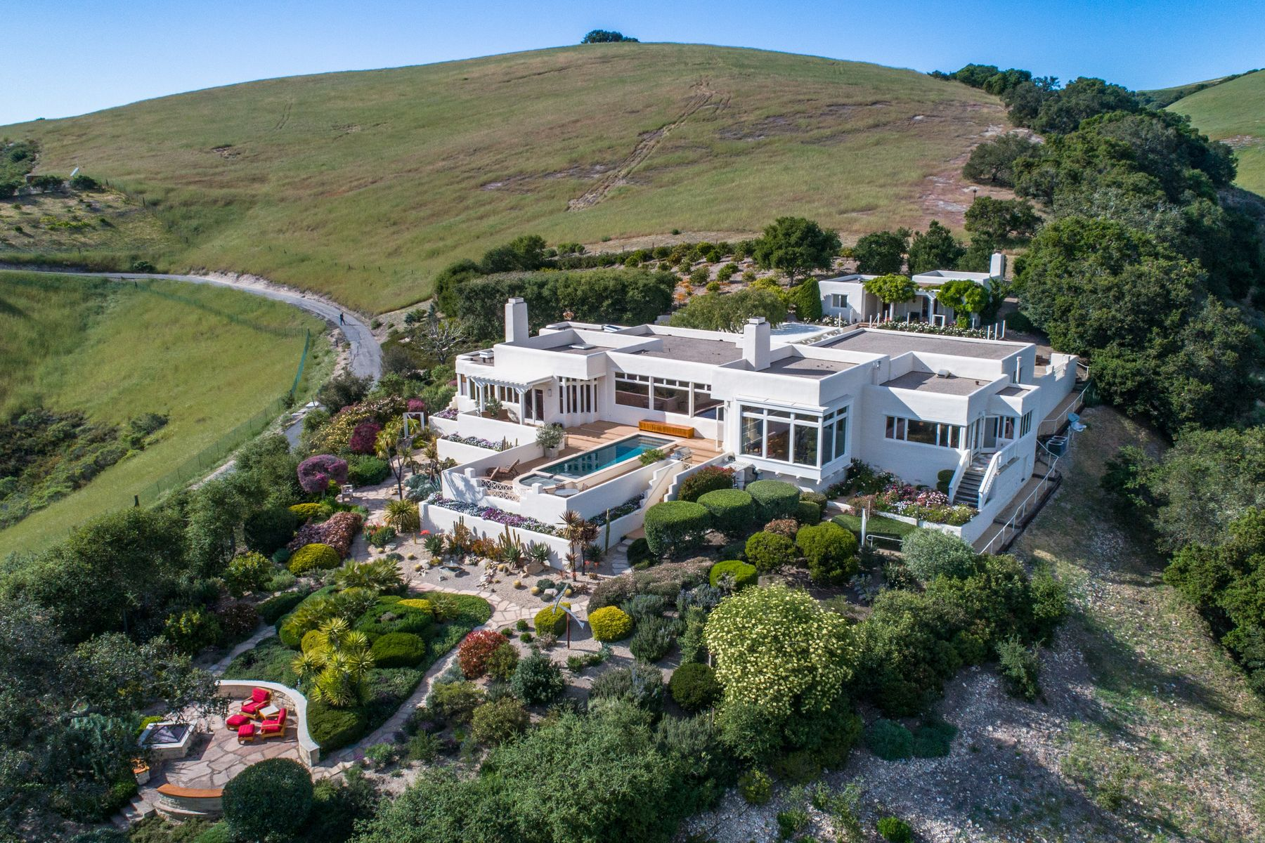 Single Family Homes for Sale at Stunning Carmel Valley Estate 6 Oak Meadow Lane Carmel Valley, California 93924 United States