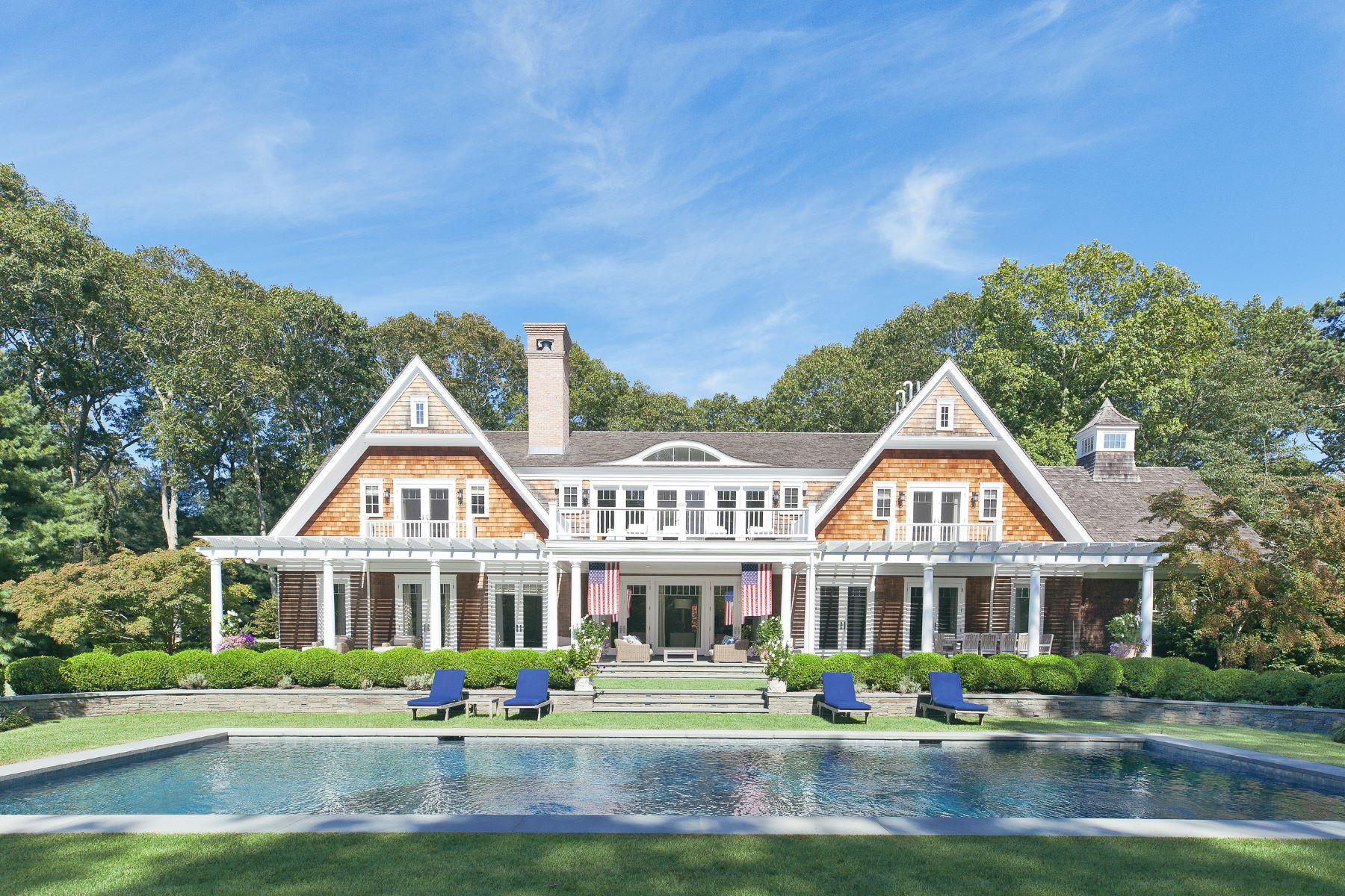 Single Family Homes for Sale at Georgica Estate 10 Jones Cove Road East Hampton, New York 11937 United States