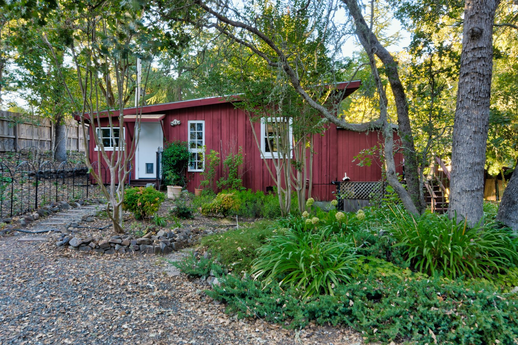 Single Family Homes for Sale at Jack London Estates Farmhouse with Barn 4120 Lakeside Rd Glen Ellen, California 95442 United States