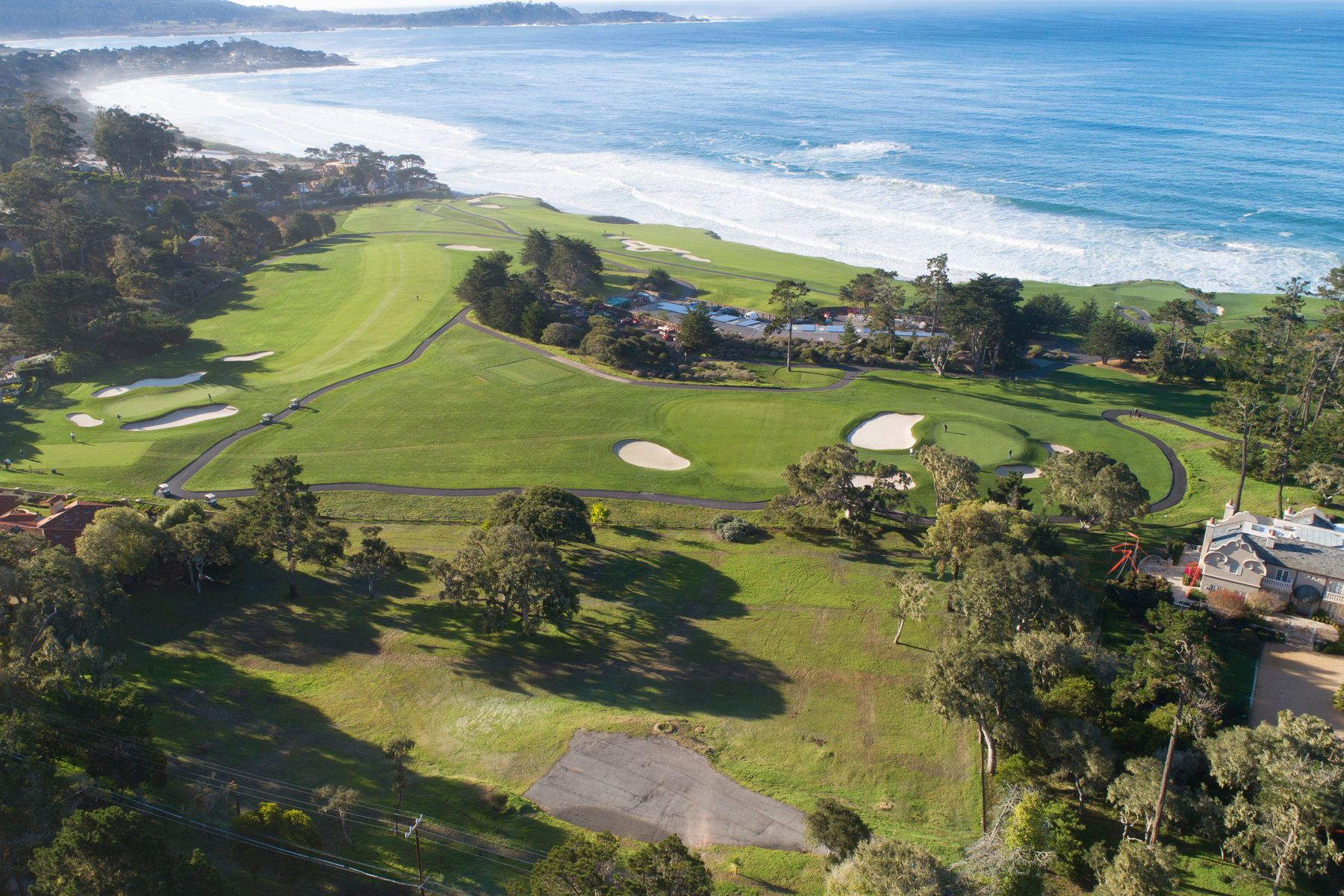 Land for Active at Two Lots on Pebble Beach Golf Links 3418 17 Mile Drive Pebble Beach, California 93953 United States
