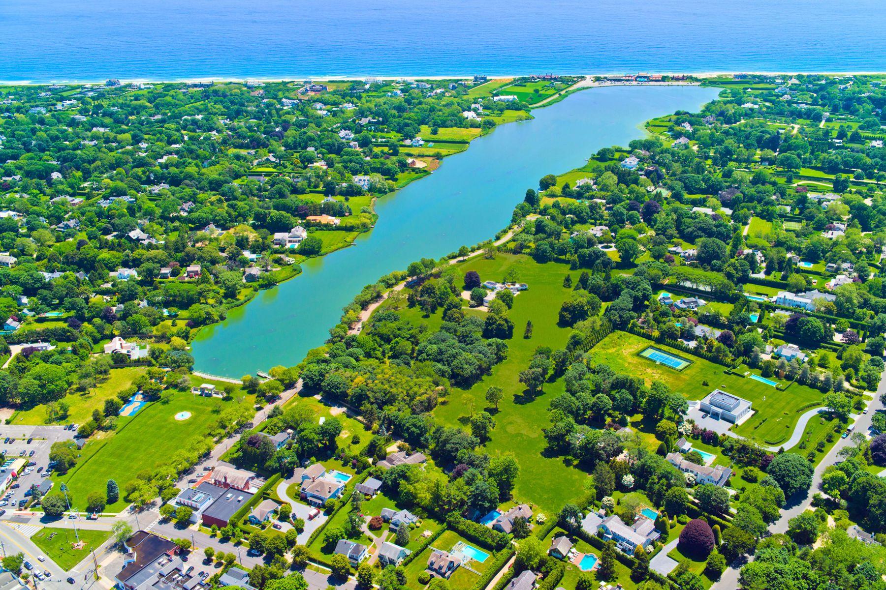 土地,用地 为 销售 在 Water Views Lake Agawam 111 Pond Lane, Lot 3 南安普敦, 纽约 11968 美国