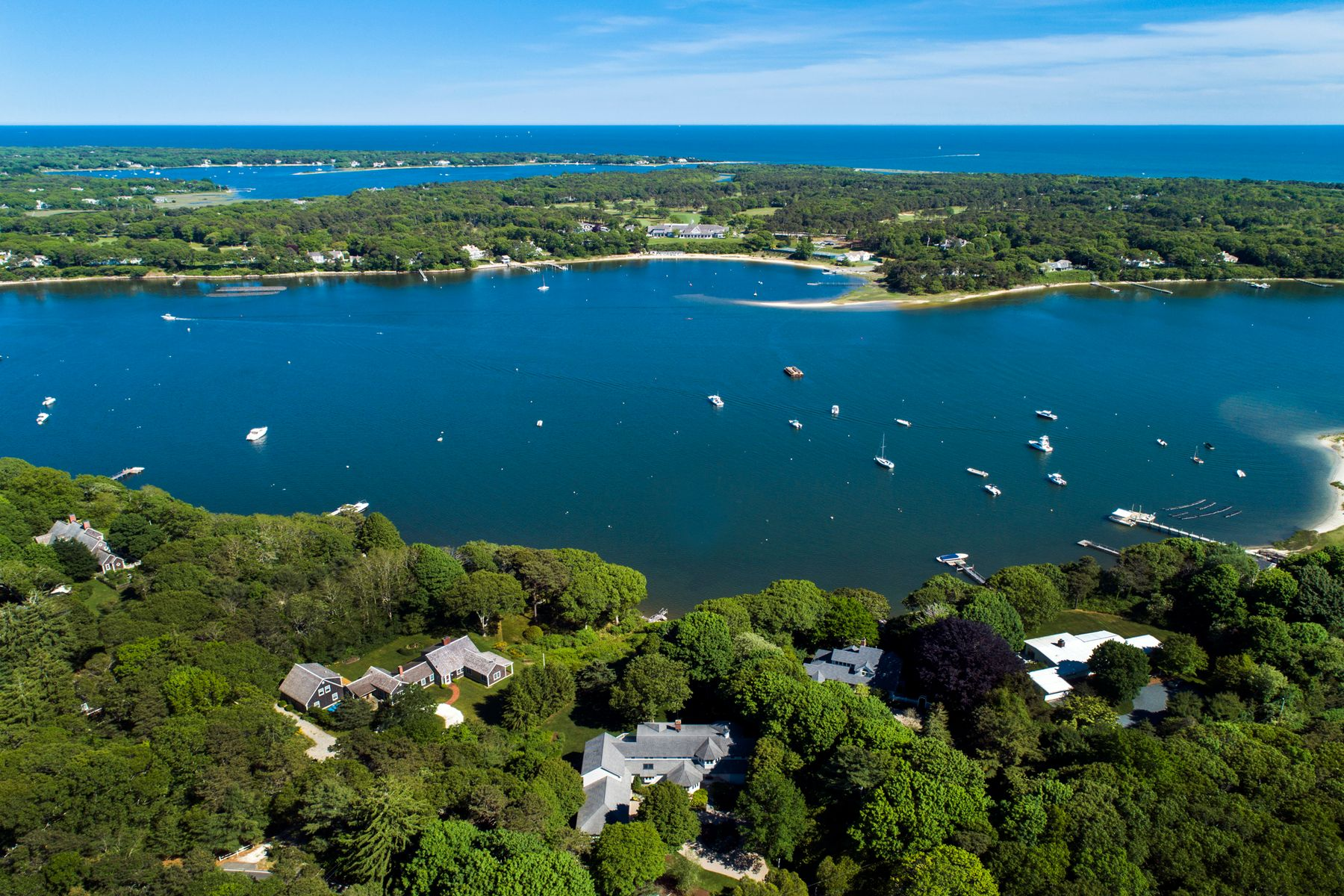 Single Family Homes for Active at 108 Little River Road Cotuit, Massachusetts 02635 United States