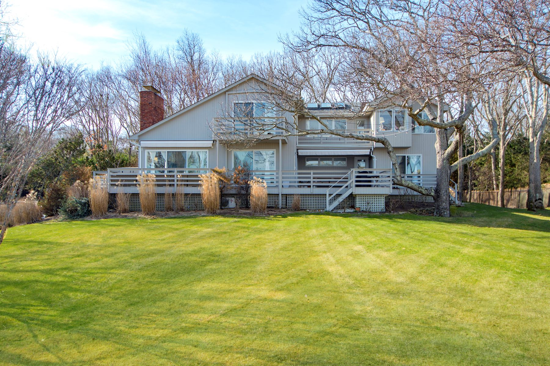 Single Family Homes for Sale at Private Waterfront on Gardiner's Bay 46 Hedges Banks Drive East Hampton, New York 11937 United States
