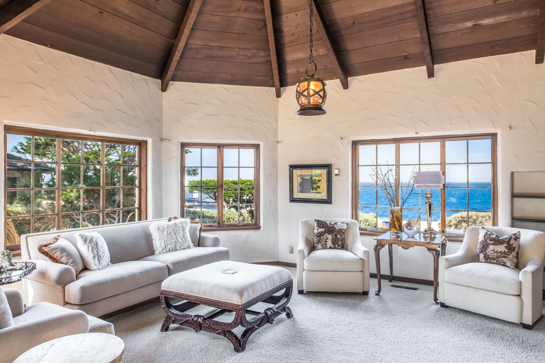 Single Family Homes for Sale at Potential on the Point 26317 Scenic Road (Lot #1) Carmel, California 93923 United States