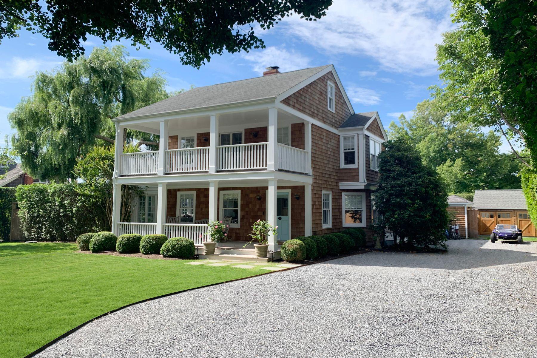 Single Family Homes 為 出售 在 Oceanview Farmhouse In Amagansett Lanes 128 Hand Lane, Amagansett, 纽约 11930 美國