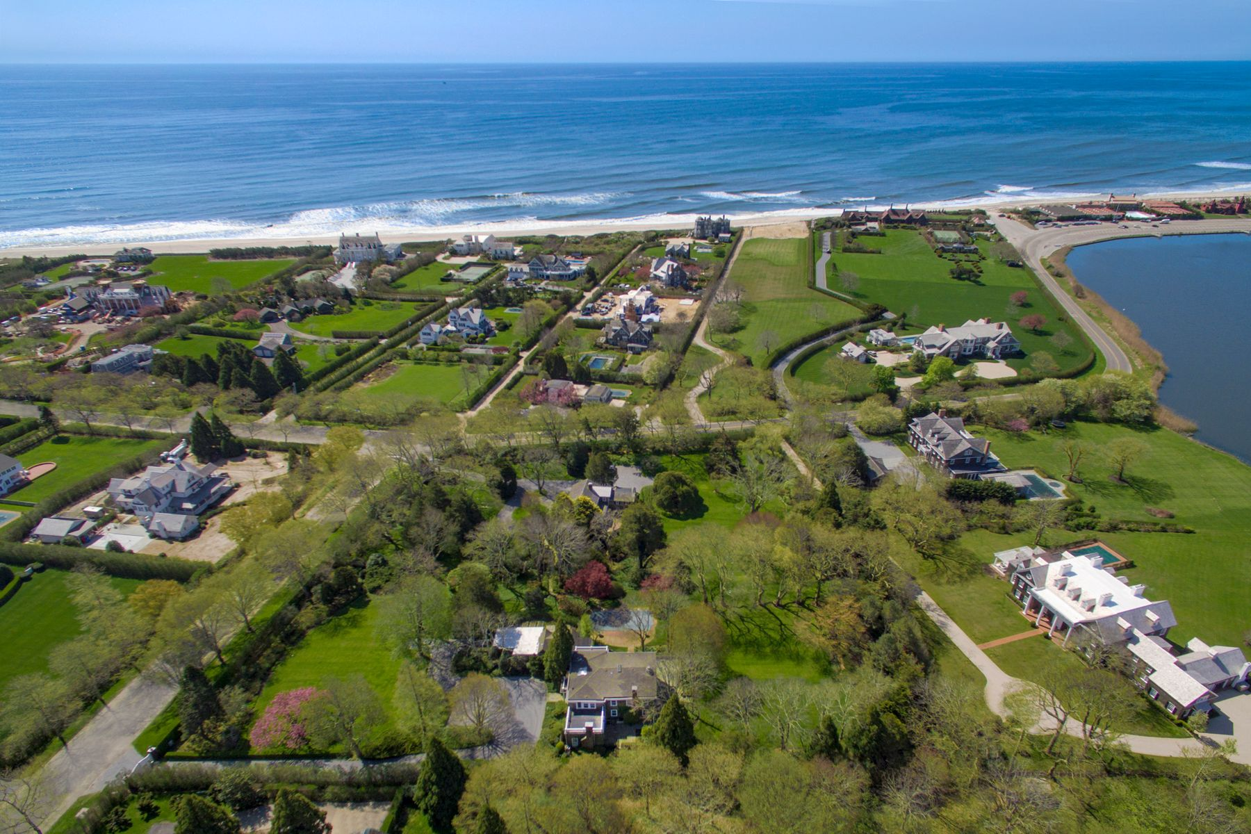Single Family Homes for Sale at Puffin Hall Estate on Gin Lane 365 & 385 South Main Street Southampton, New York 11968 United States