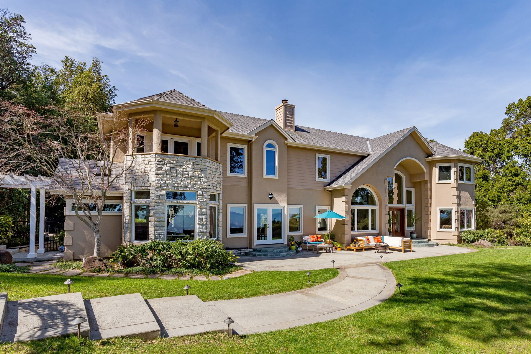 Single Family Homes for Sale at Custom Estate with Spectacular Views! 24645 Heather Hts Saratoga, California 95070 United States