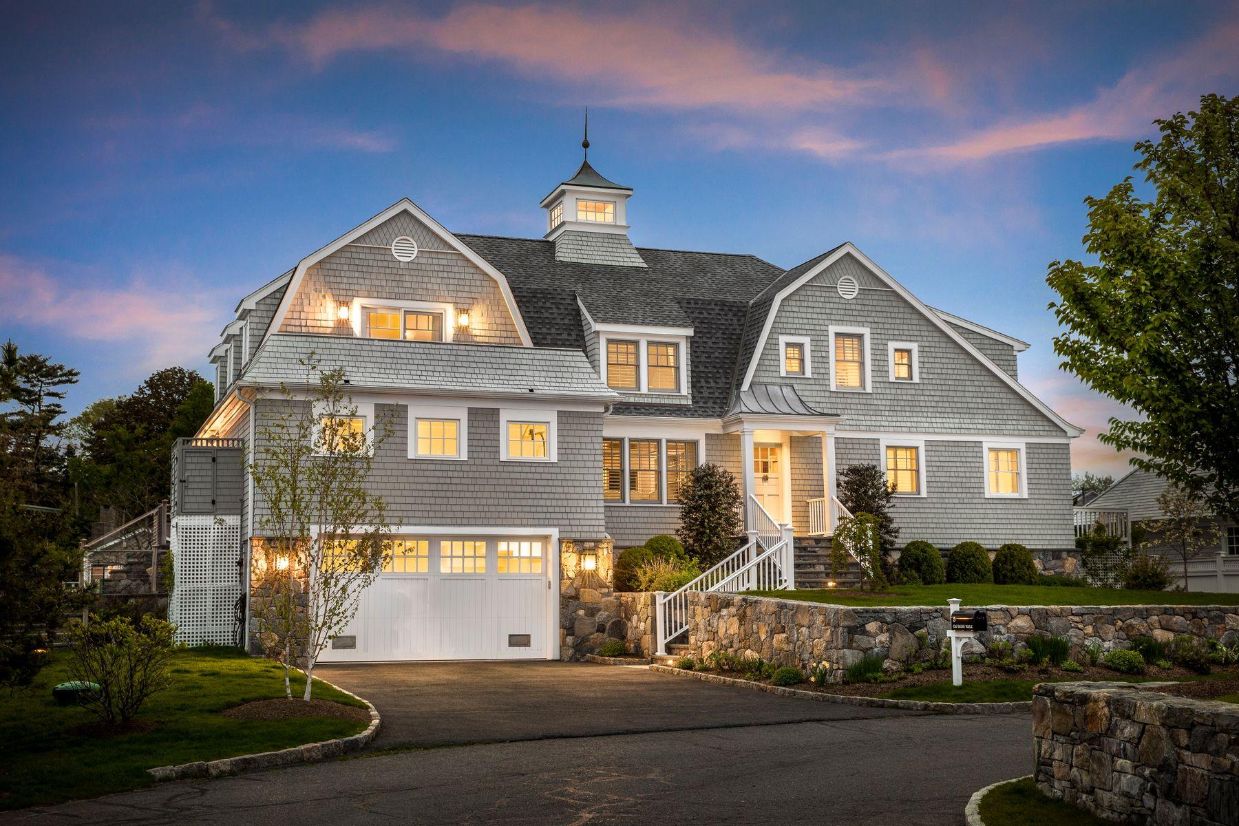 Single Family Homes por un Venta en 5 Captains Walk Norwalk, Connecticut 06853 Estados Unidos