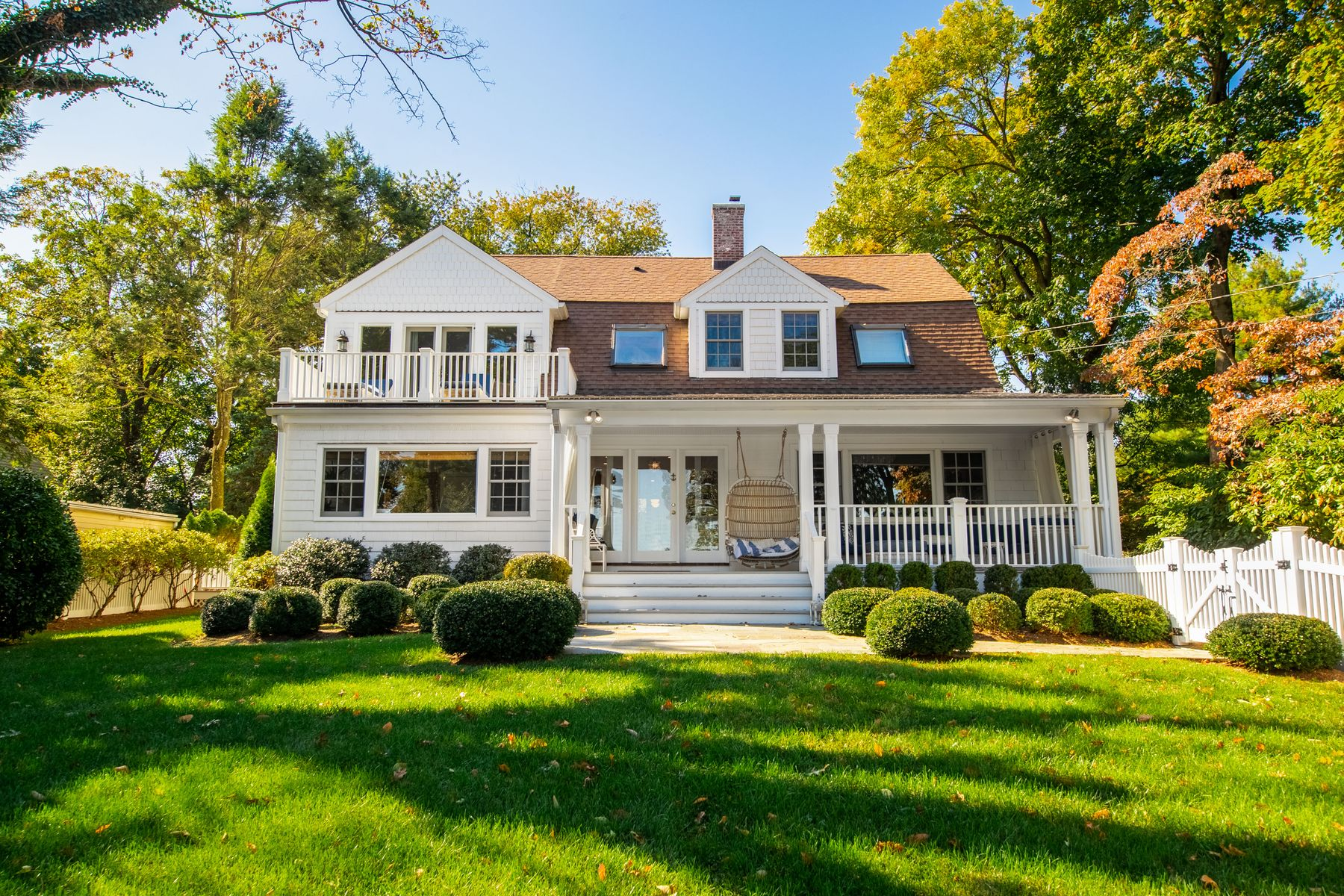 Property for Sale at Water Views and Pintrest Worthy 215 Shore Road Greenwich, Connecticut 06830 United States