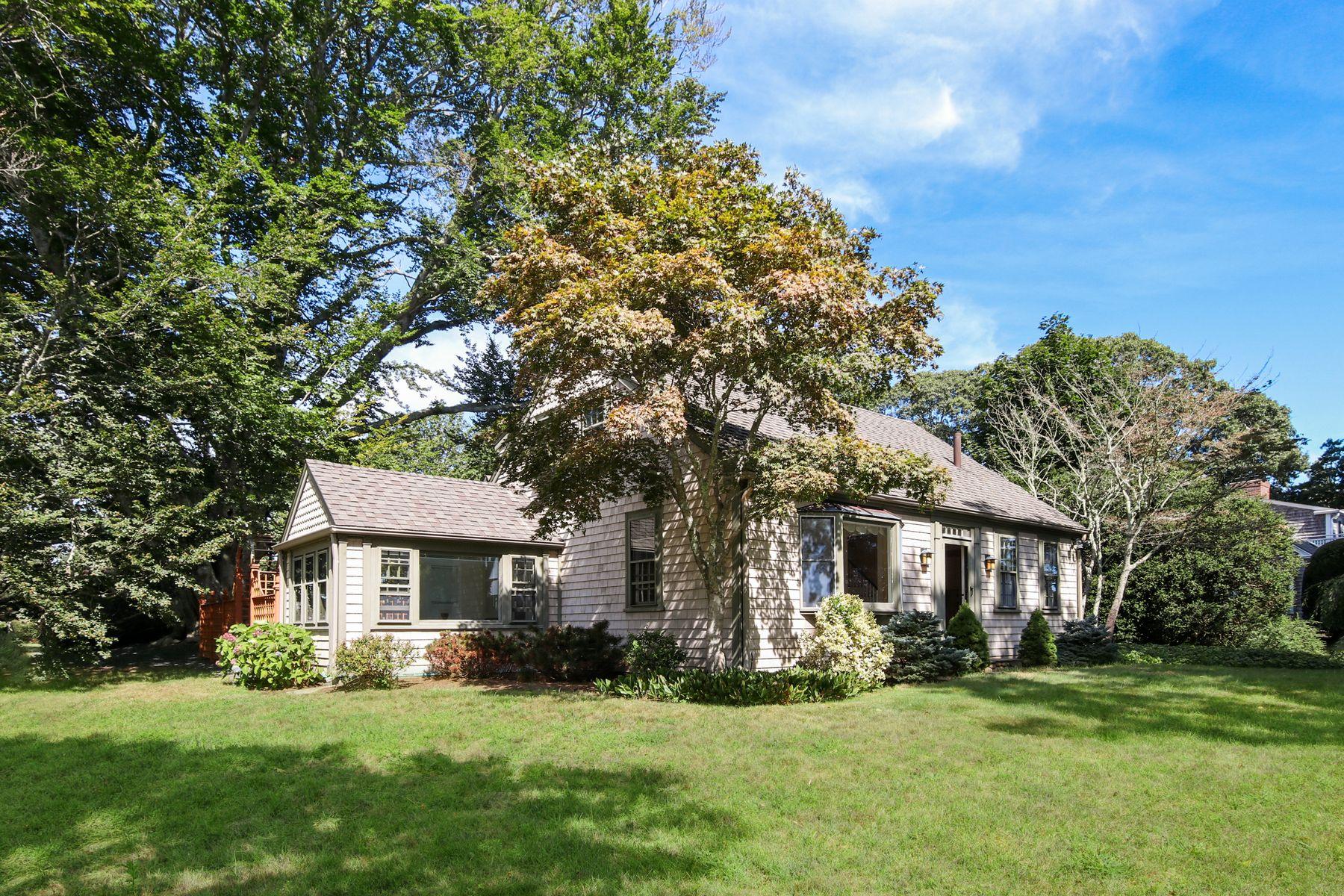 Single Family Homes por un Venta en 124 Siders Pond Road, Falmouth, MA 124 Siders Pond Road Falmouth, Massachusetts 02540 Estados Unidos