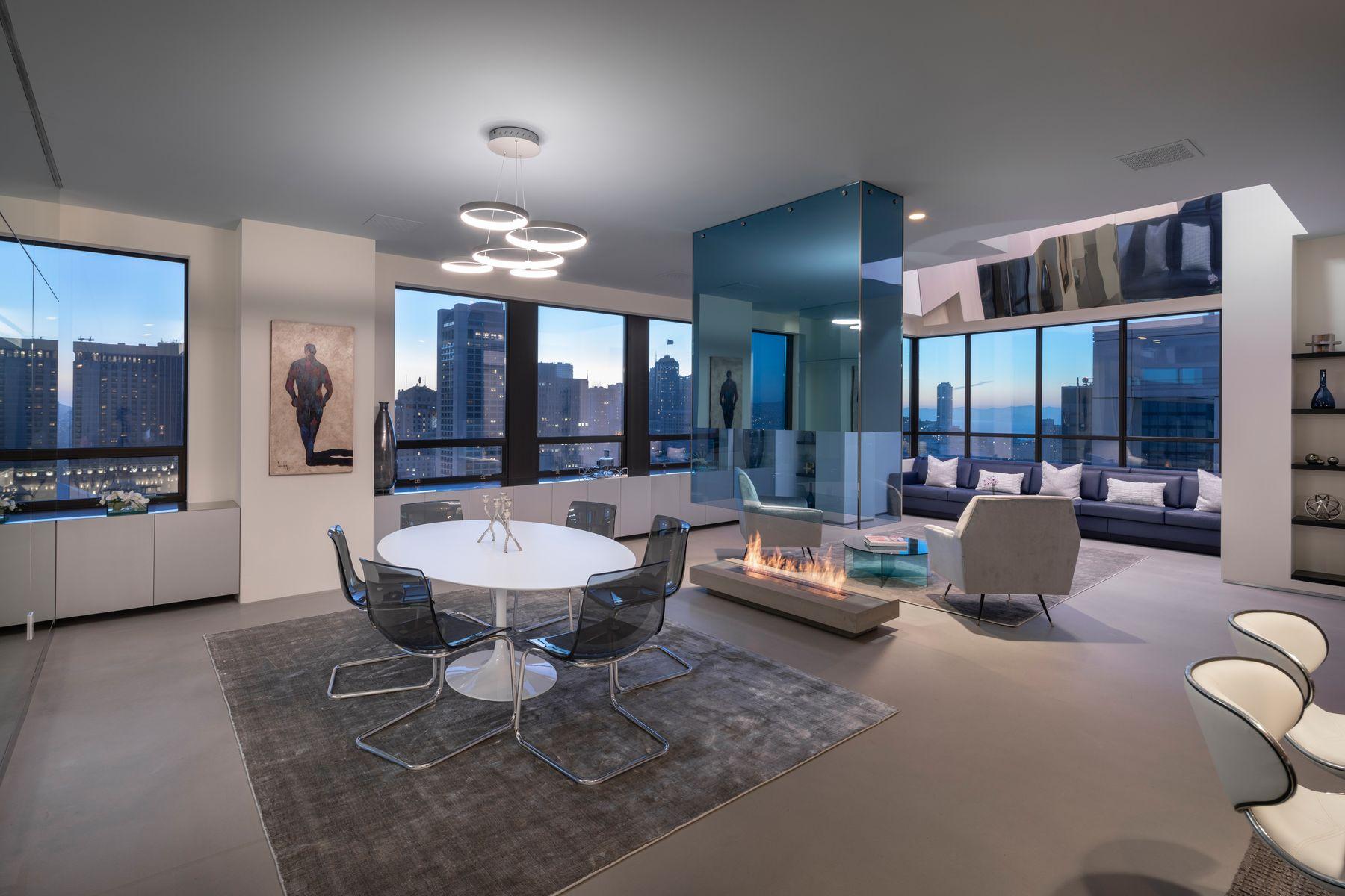 Condominiums for Active at Modern Ritz-Carlton Penthouse 690 Market St Penthouse 2401 San Francisco, California 94104 United States