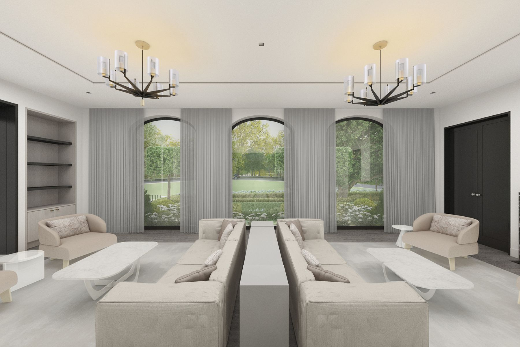 Additional photo for property listing at Brand New Beverly Hills Estate 1000 Laurel Way Beverly Hills, California 90210 Estados Unidos