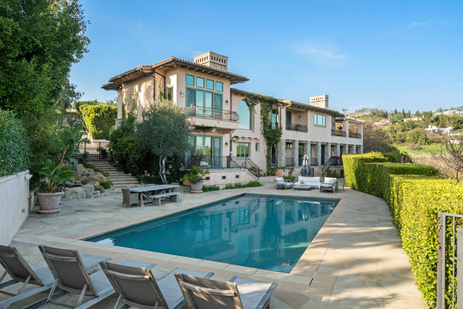 Property for Sale at Dream View Villa 27856 West Winding Way Malibu, California 90265 United States