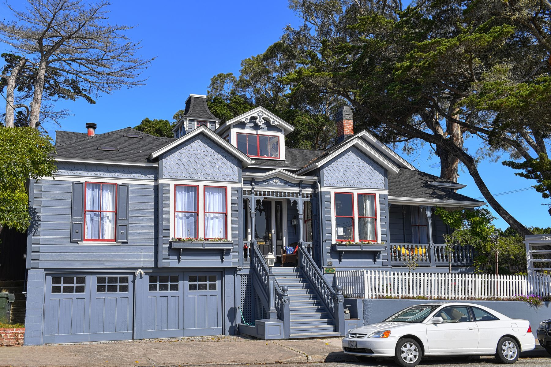 Single Family Homes for Sale at Elegant 5 Bedroom/4.5 Bath Home! 202 Lobos Avenue Pacific Grove, California 93950 United States