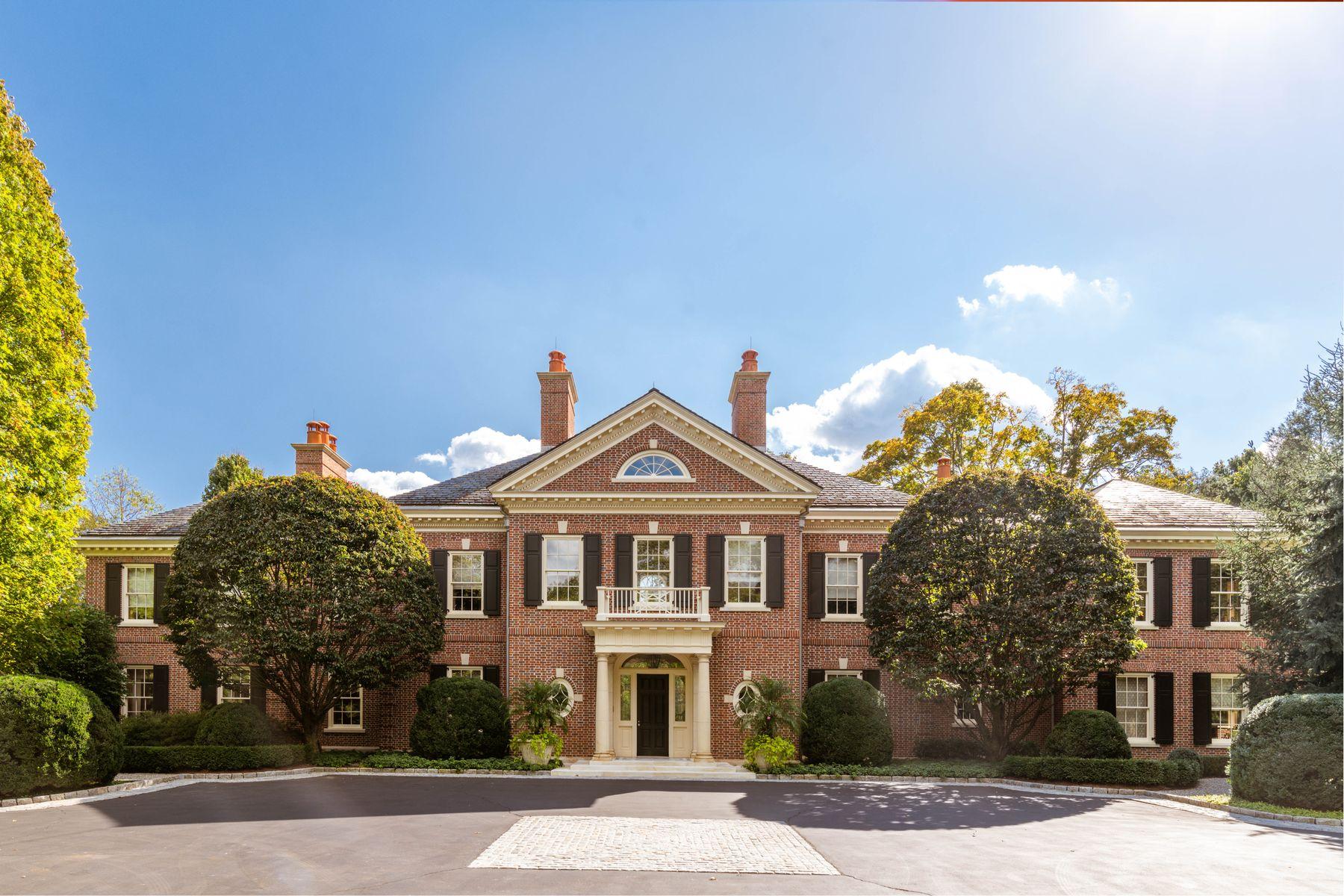 Single Family Homes 为 销售 在 21st Century Lakeside Estate 格林威治, 康涅狄格州 06830 美国