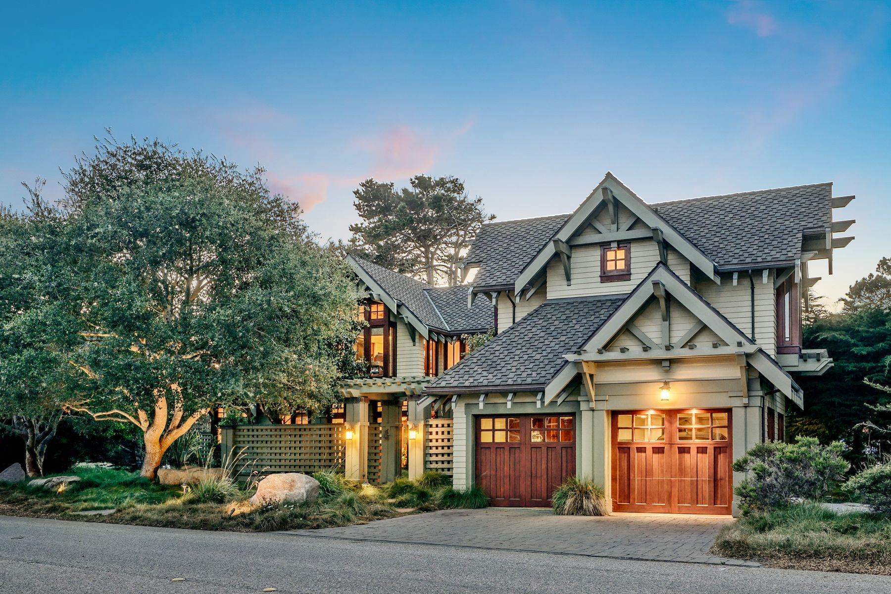 Single Family Homes for Sale at Craftsman Beach Escape 130 Asilomar Boulevard Pacific Grove, California 93950 United States
