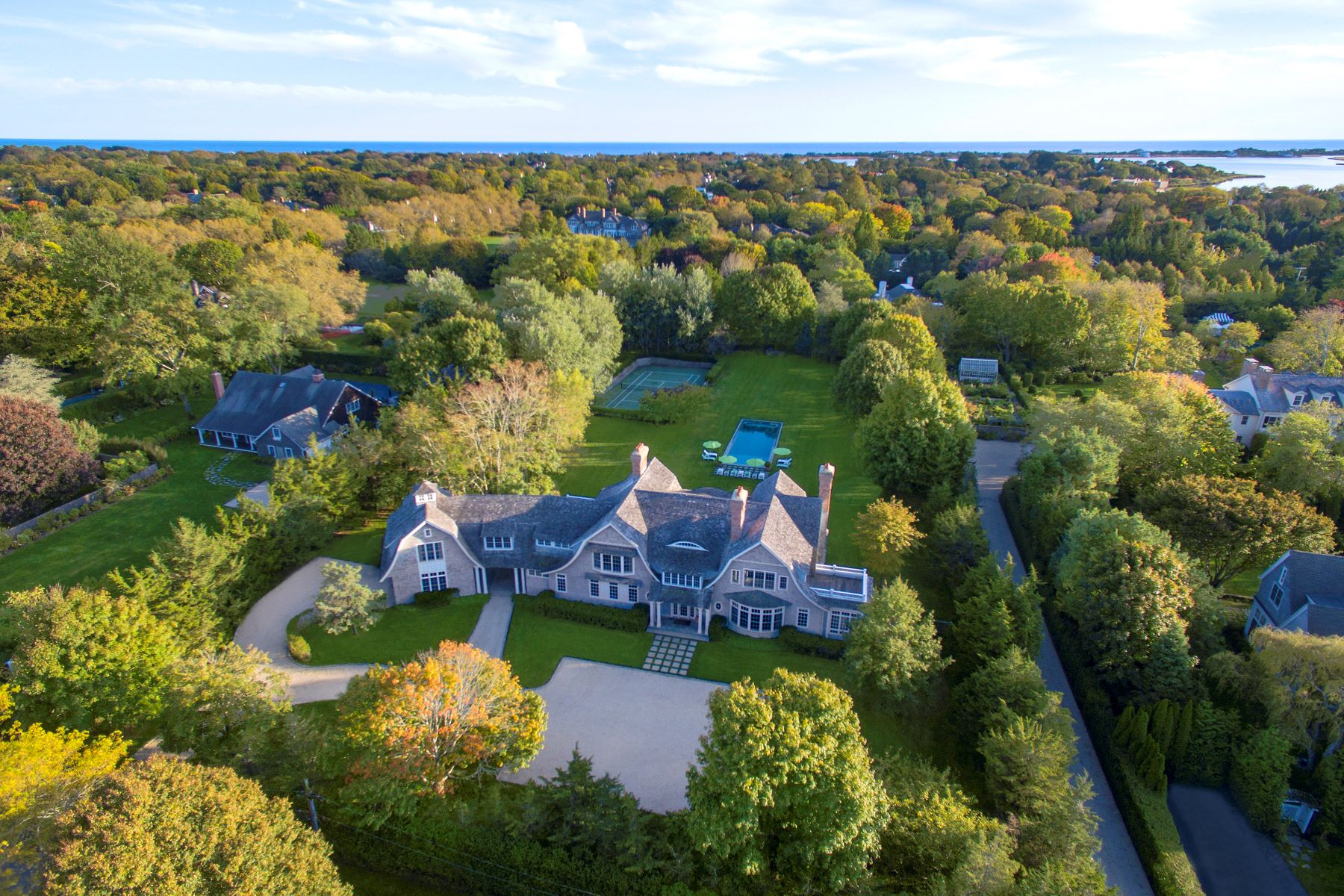 Single Family Homes for Active at Master-Designed Shingle Style Home 56 Barnhart Street Southampton, New York 11968 United States