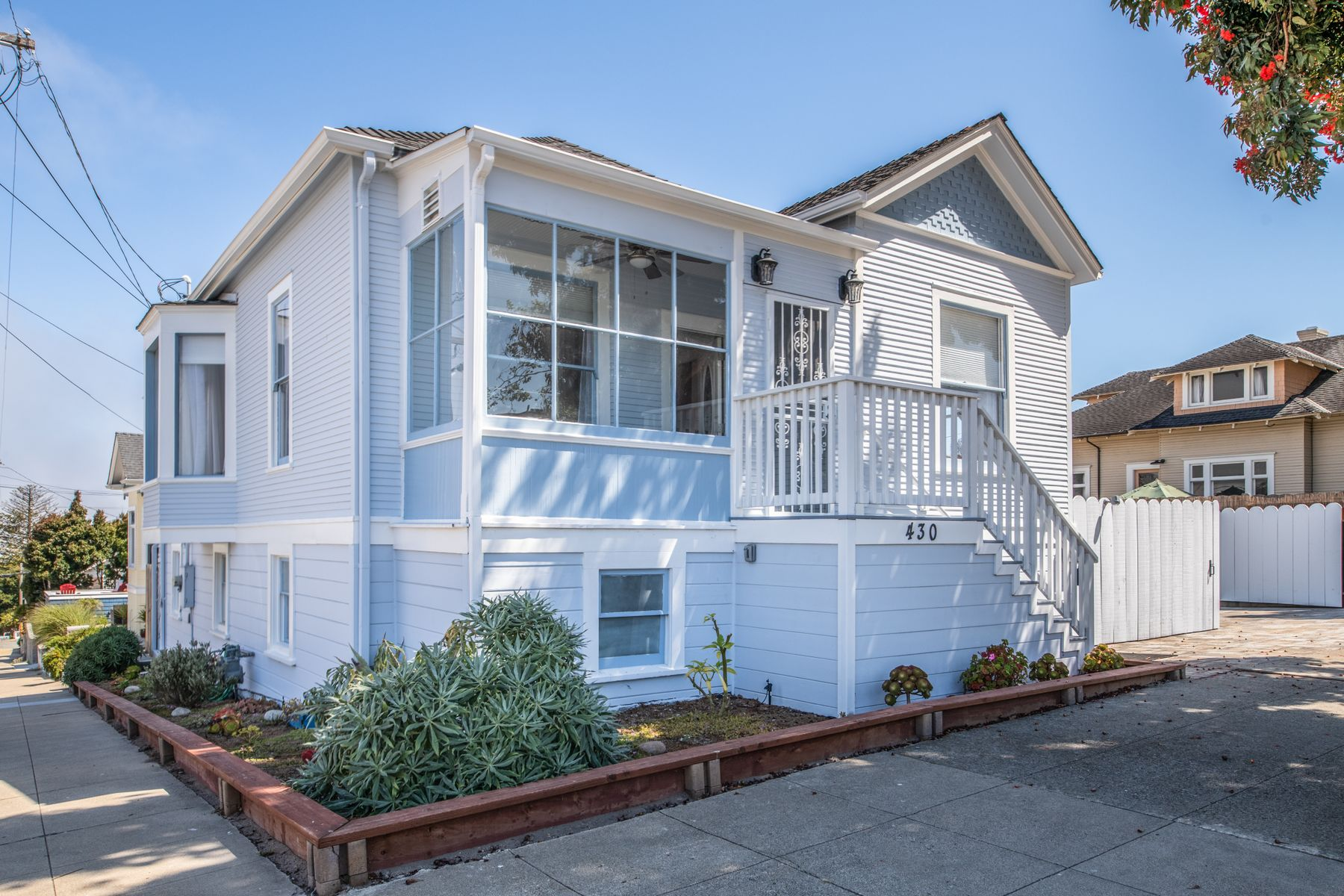 Single Family Homes for Sale at Remodeled Beach Bungalow 430 Pine Avenue Pacific Grove, California 93950 United States