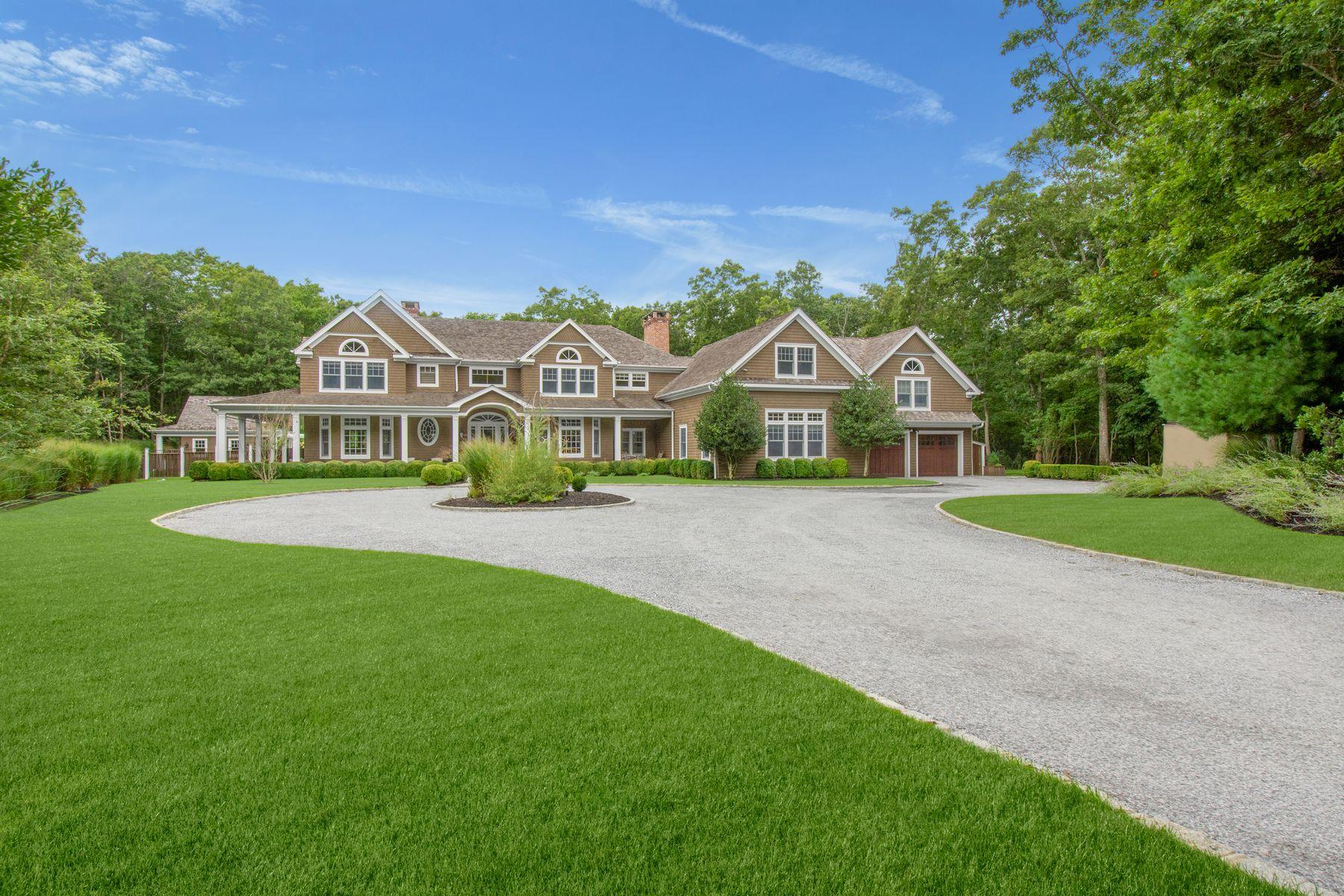 Single Family Homes för Försäljning vid 5-Acres w Tennis Near Sag Harbor Village 129 Stoney Hill Road, Sag Harbor, New York 11963 Förenta staterna