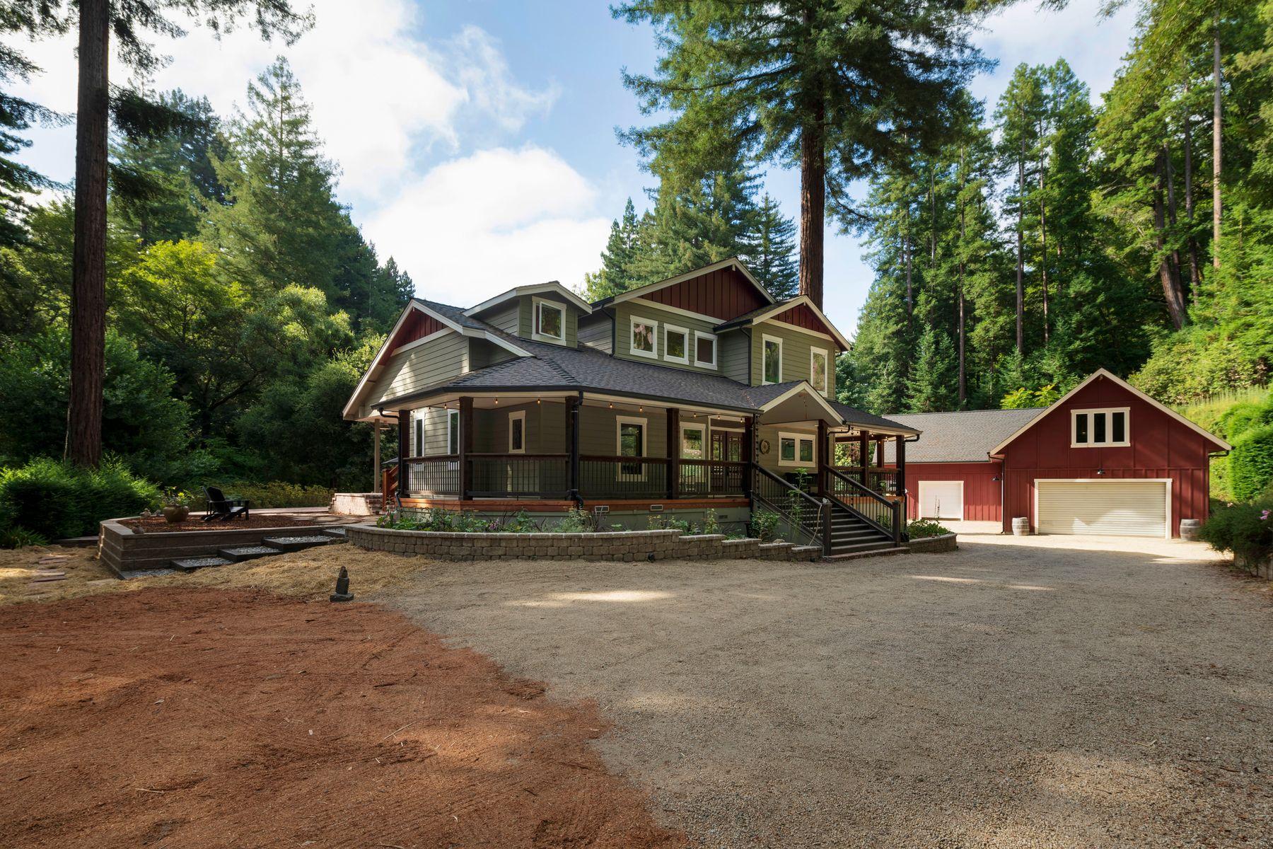 Single Family Homes por un Venta en 2020 Bean Creek Rd Scotts Valley, California 95066 Estados Unidos