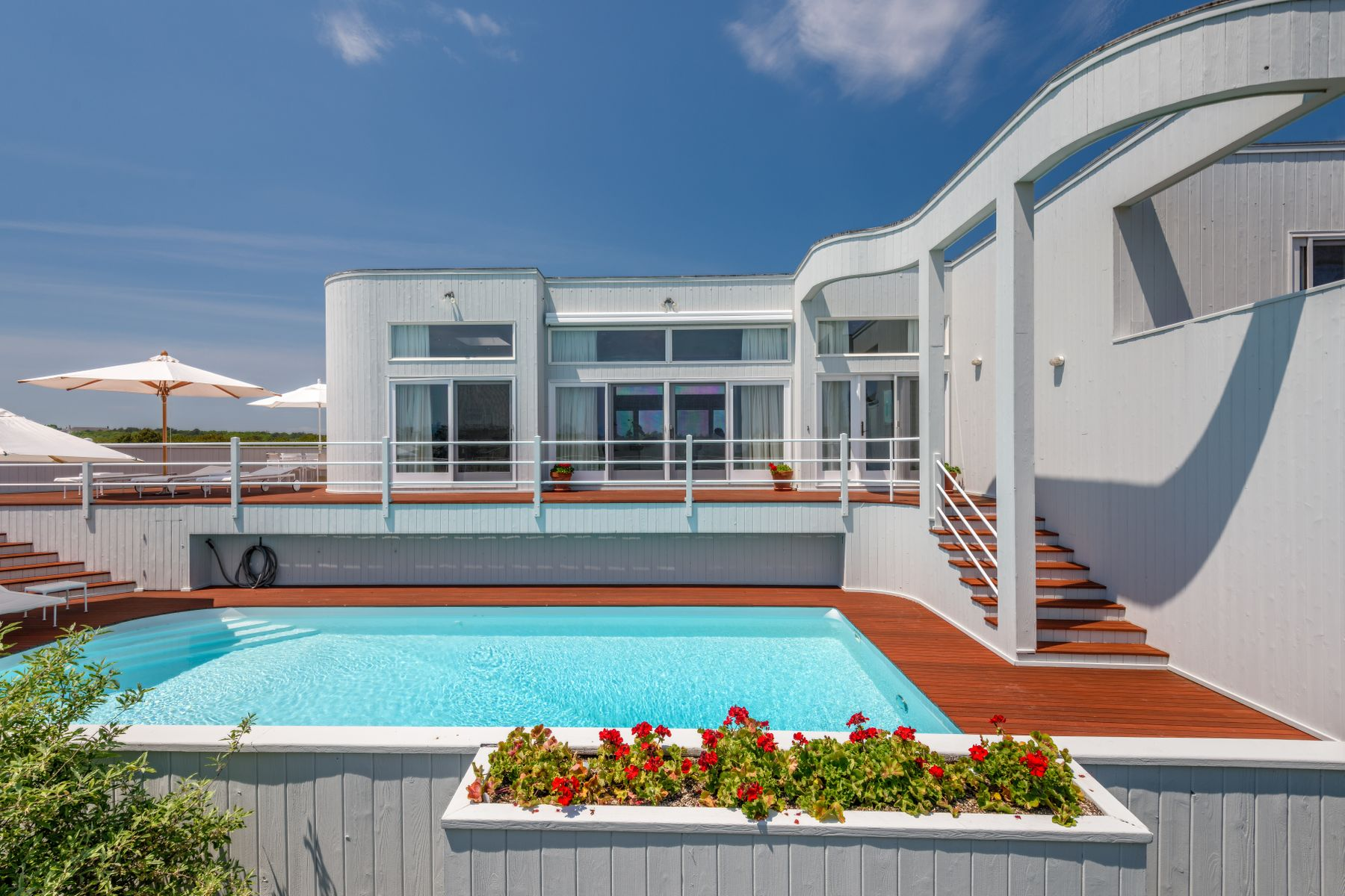 Single Family Homes for Active at Modern Beach House 20 Whalers Lane Amagansett, New York 11930 United States