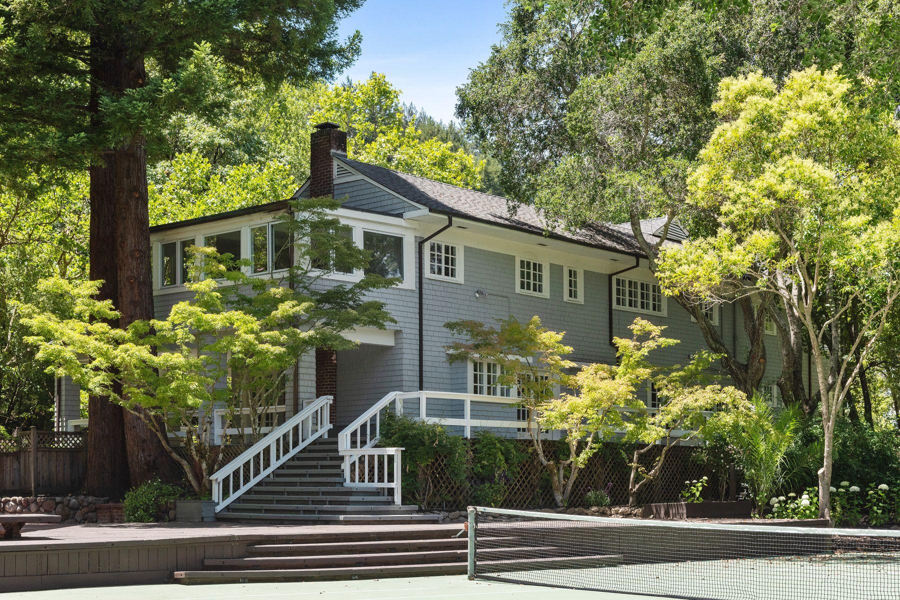 Single Family Homes por un Venta en 91 Bridge Rd Ross, California 94957 Estados Unidos