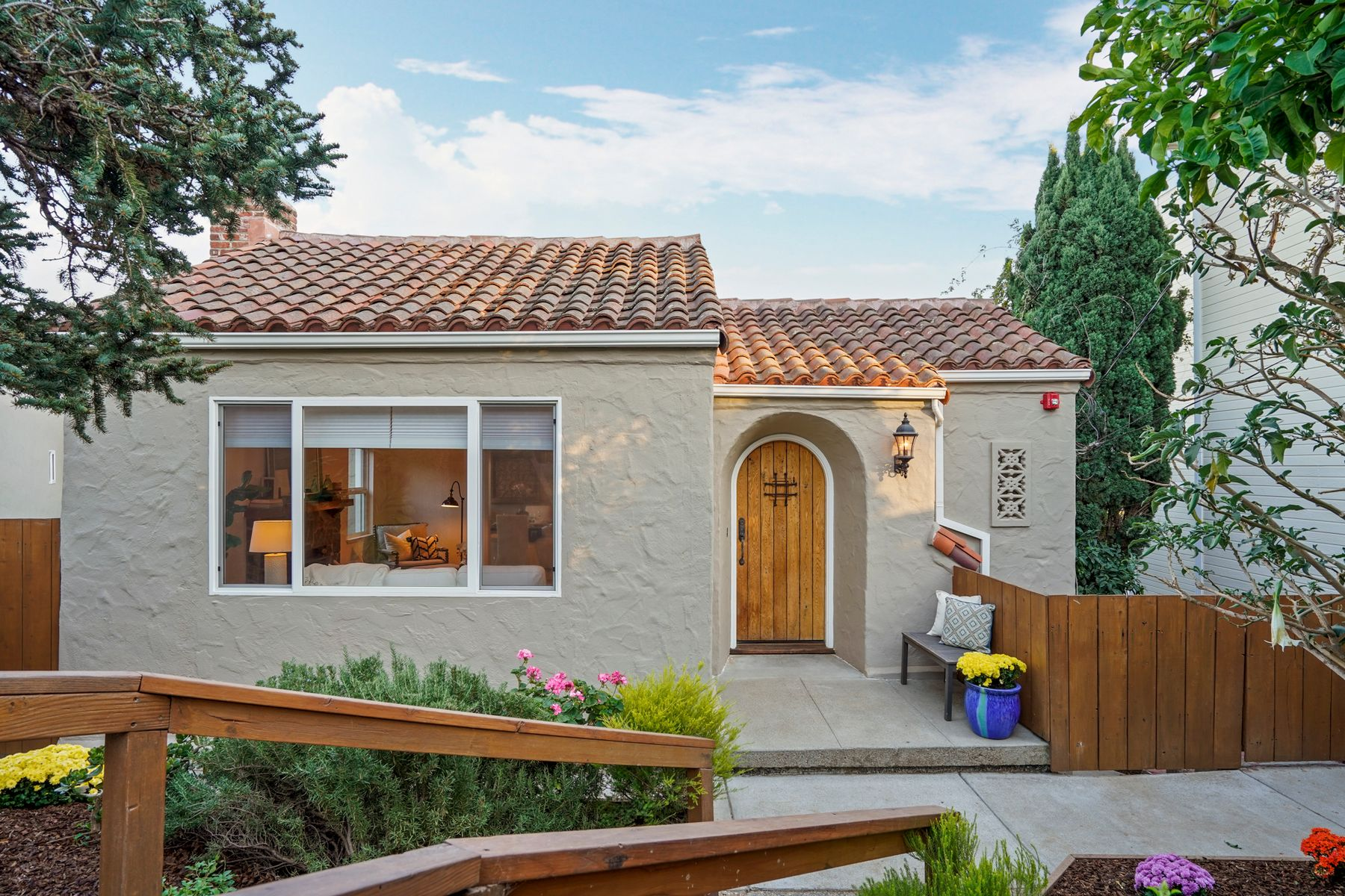 Single Family Homes for Sale at Old-World Charm With Modern Amenities 2620 Ponce Ave Belmont, California 94002 United States